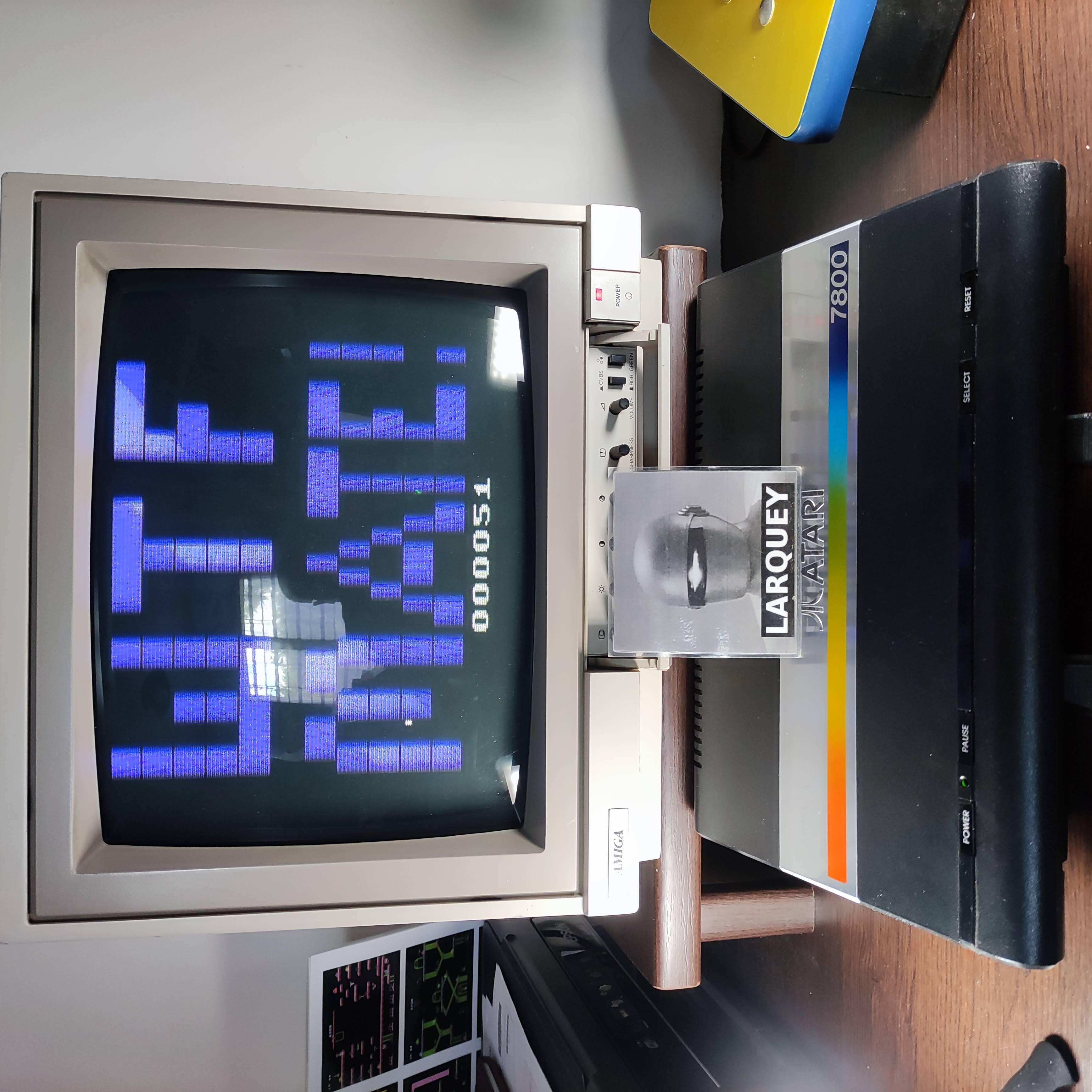 Larquey: Aborigines Revenge (Atari 2600) 51 points on 2020-10-11 12:14:36