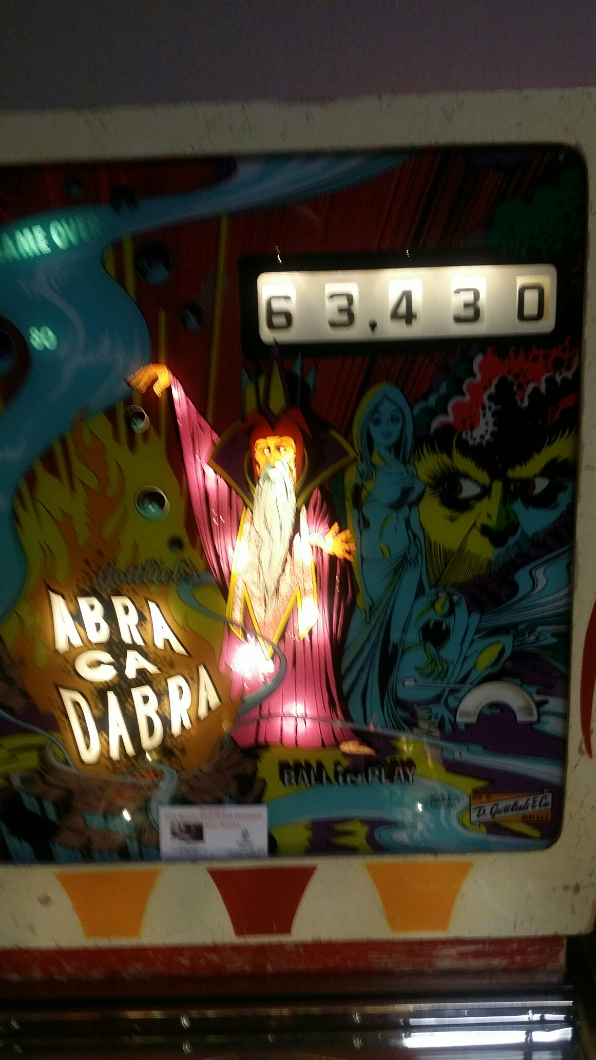 Abra Ca Dabra 63,430 points