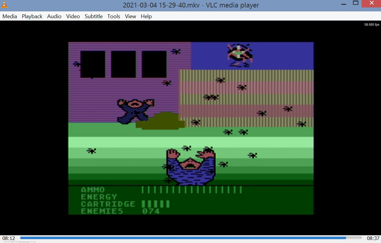 LuigiRuffolo: Accion [Enemies Left] (Atari 400/800/XL/XE Emulated) 74 points on 2021-03-04 08:48:11