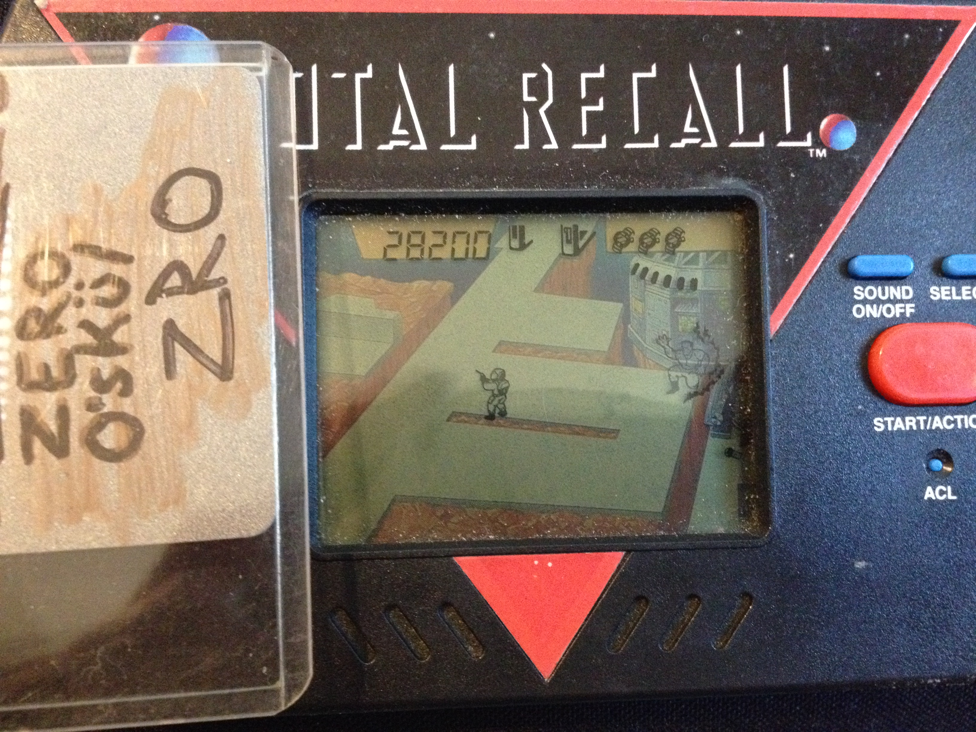 Acclaim Superplay Total Recall 28,200 points