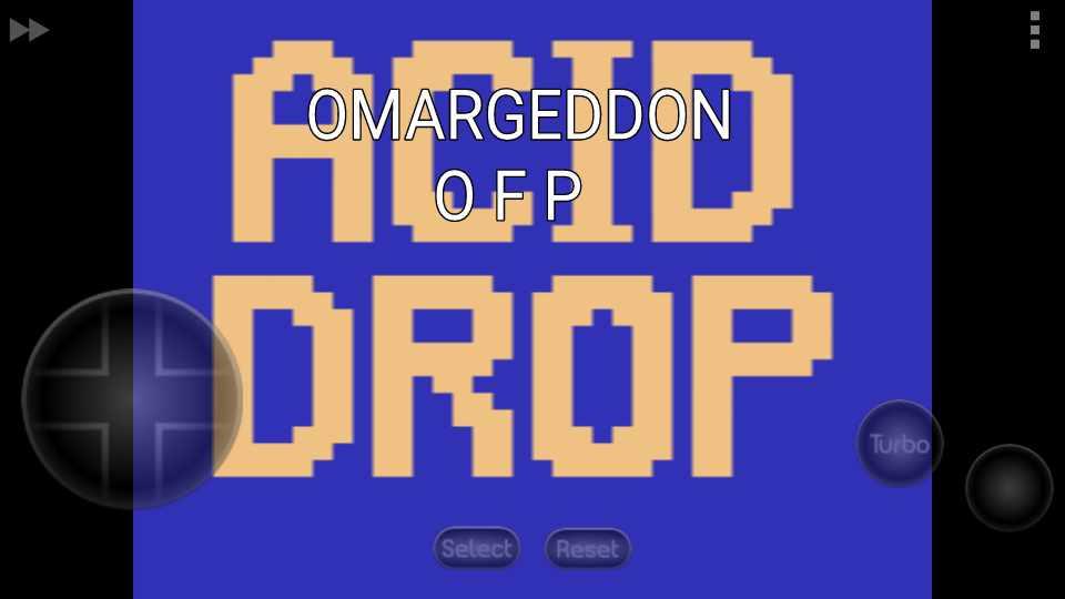 omargeddon: Acid Drop (Atari 2600 Emulated) 27,000 points on 2016-11-05 13:18:10