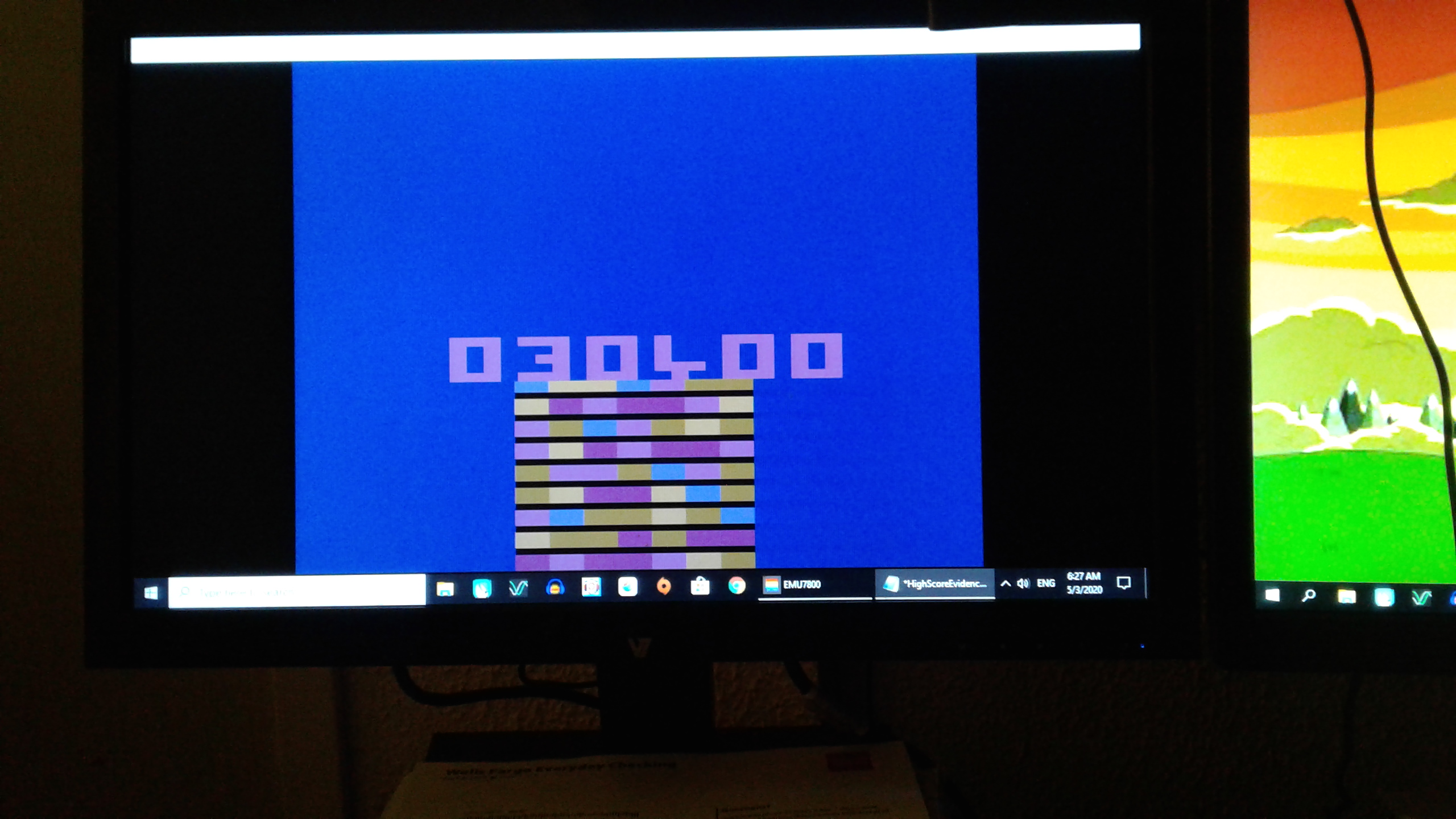 Mark: Acid Drop (Atari 2600 Emulated) 30,400 points on 2020-05-07 21:32:44