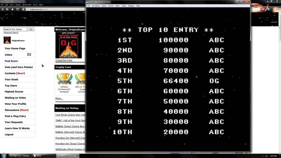 OriginalGamer: Acrobat Mission [Normal] (SNES/Super Famicom Emulated) 66,400 points on 2016-07-15 20:16:26