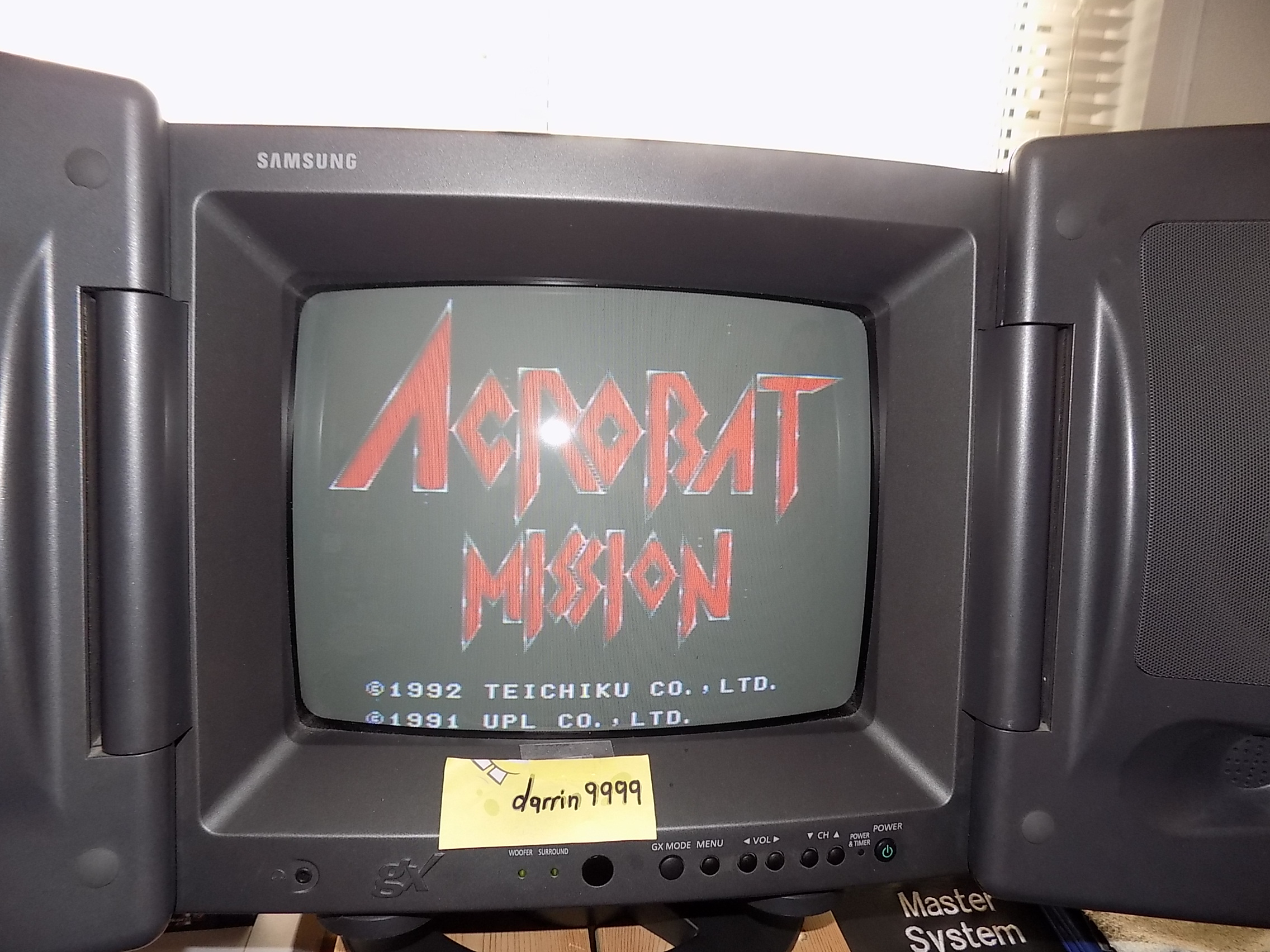 darrin9999: Acrobat Mission [Normal] (SNES/Super Famicom) 64,000 points on 2019-04-07 10:50:16