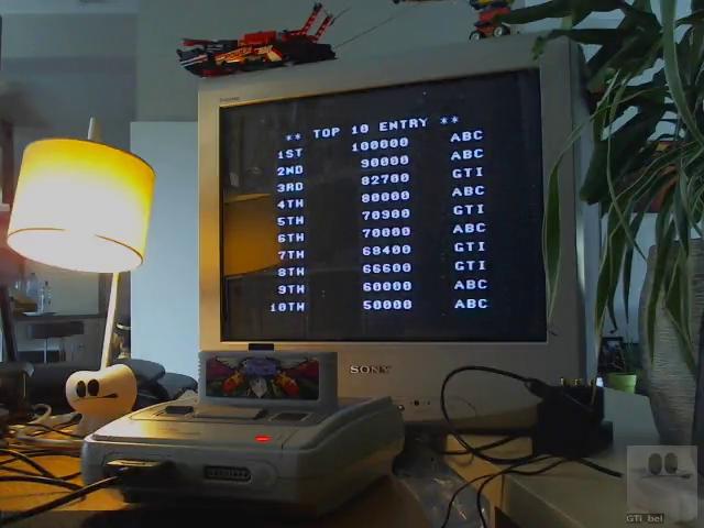 GTibel: Acrobat Mission [Normal] (SNES/Super Famicom) 82,700 points on 2019-08-06 11:44:39