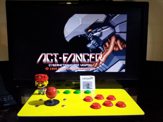 Act-Fancer Cybernetick Hyper Weapon [actfancr] 123,700 points