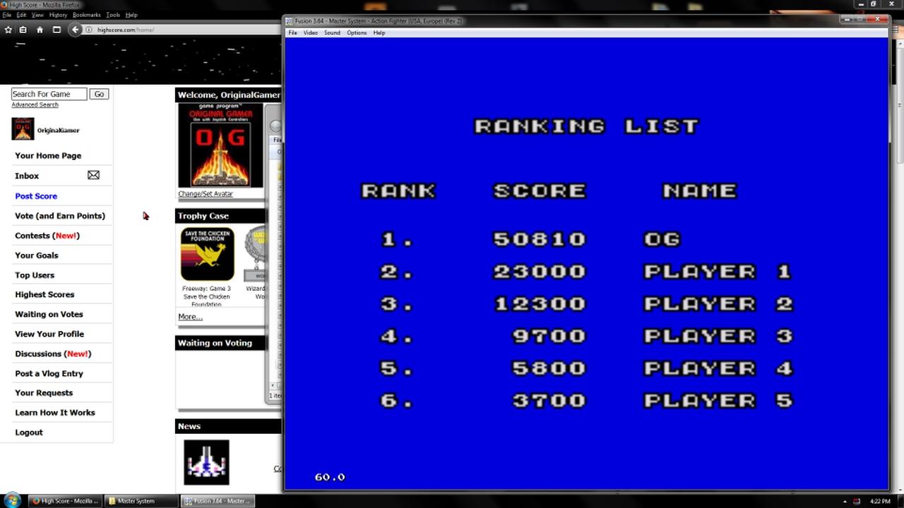 OriginalGamer: Action Fighter (Sega Master System Emulated) 50,810 points on 2018-02-19 17:59:05