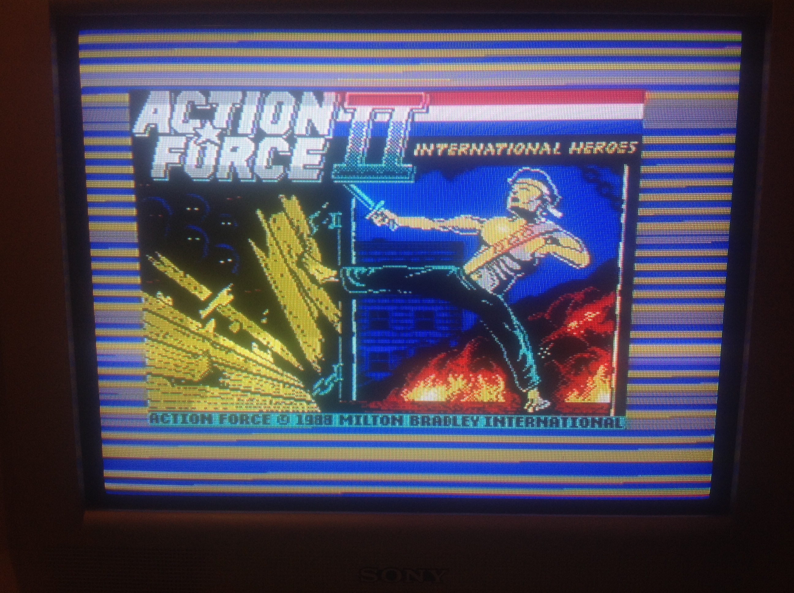 CoCoForest: Action Force II (ZX Spectrum) 2,765 points on 2016-01-07 14:04:29