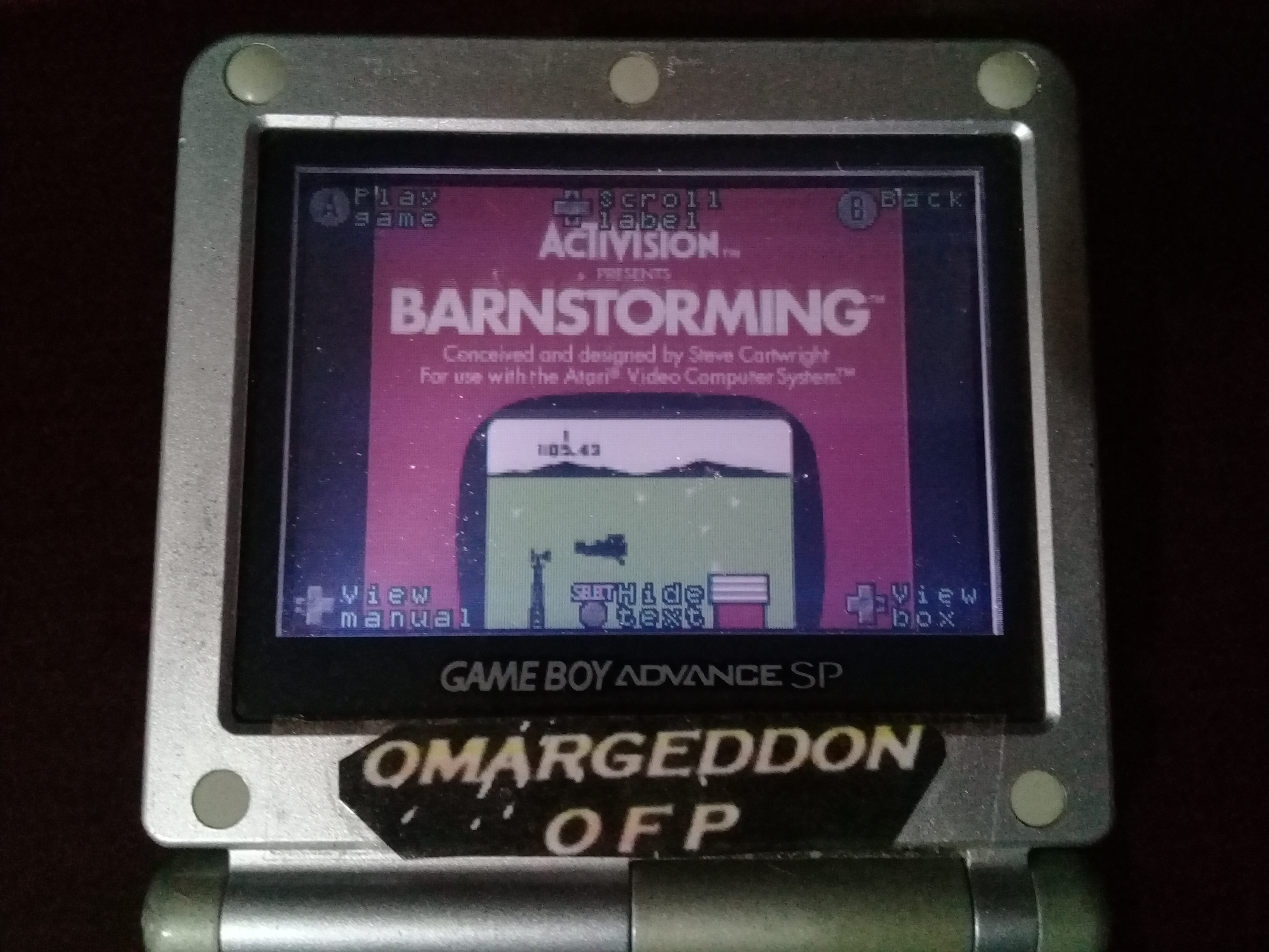 omargeddon: Activision Anthology: Barnstorming [Game 1B] (GBA) 0:00:33.05 points on 2019-10-21 05:31:28