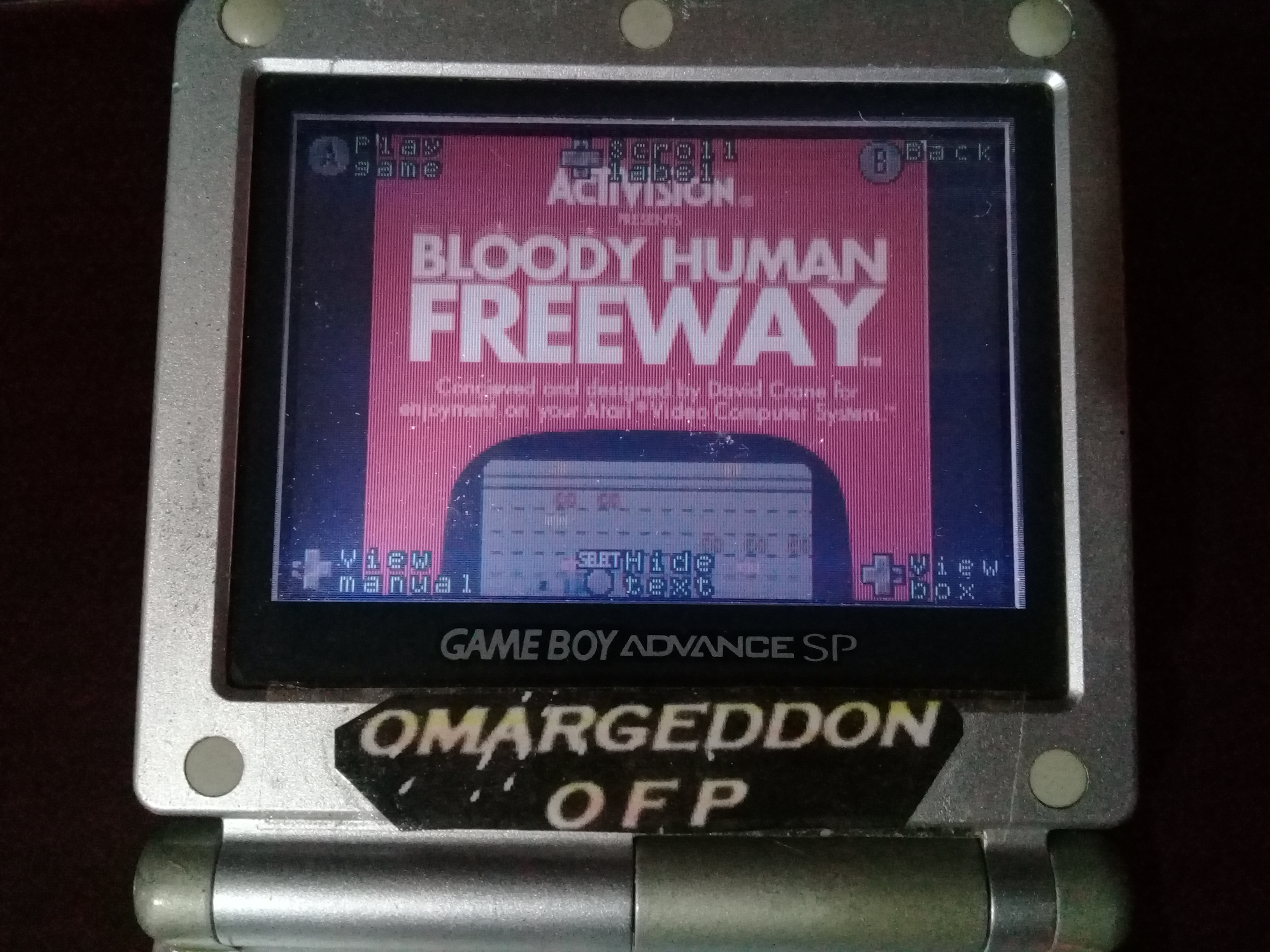 omargeddon: Activision Anthology: Bloody Human Freeway [Game 1] (GBA) 28 points on 2019-10-29 09:49:38