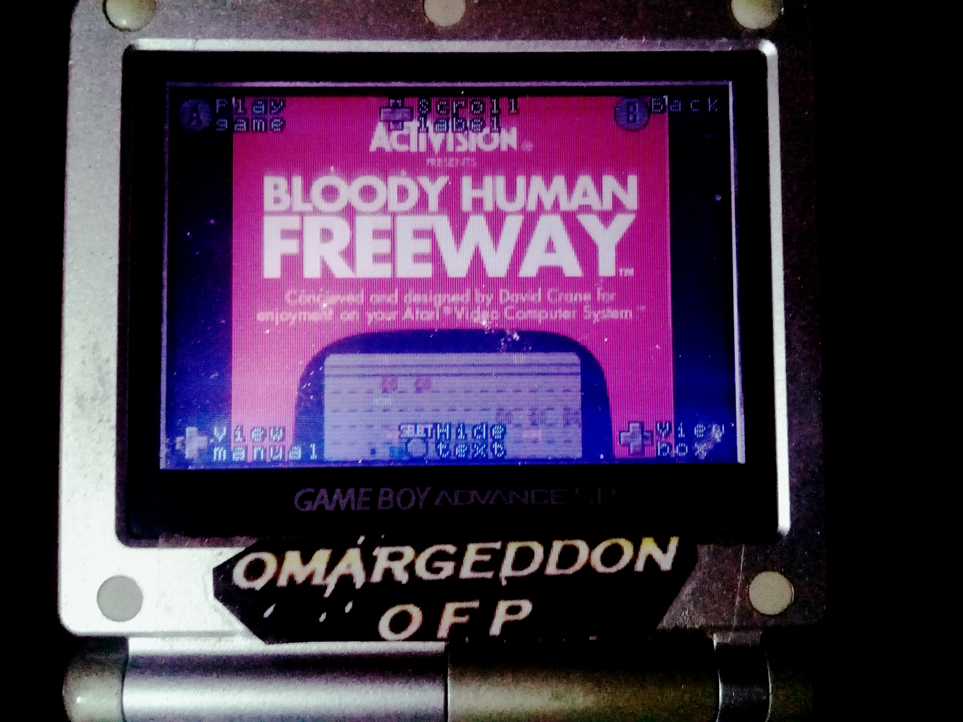 omargeddon: Activision Anthology: Bloody Human Freeway [Game 1] (GBA) 30 points on 2020-03-21 17:21:06