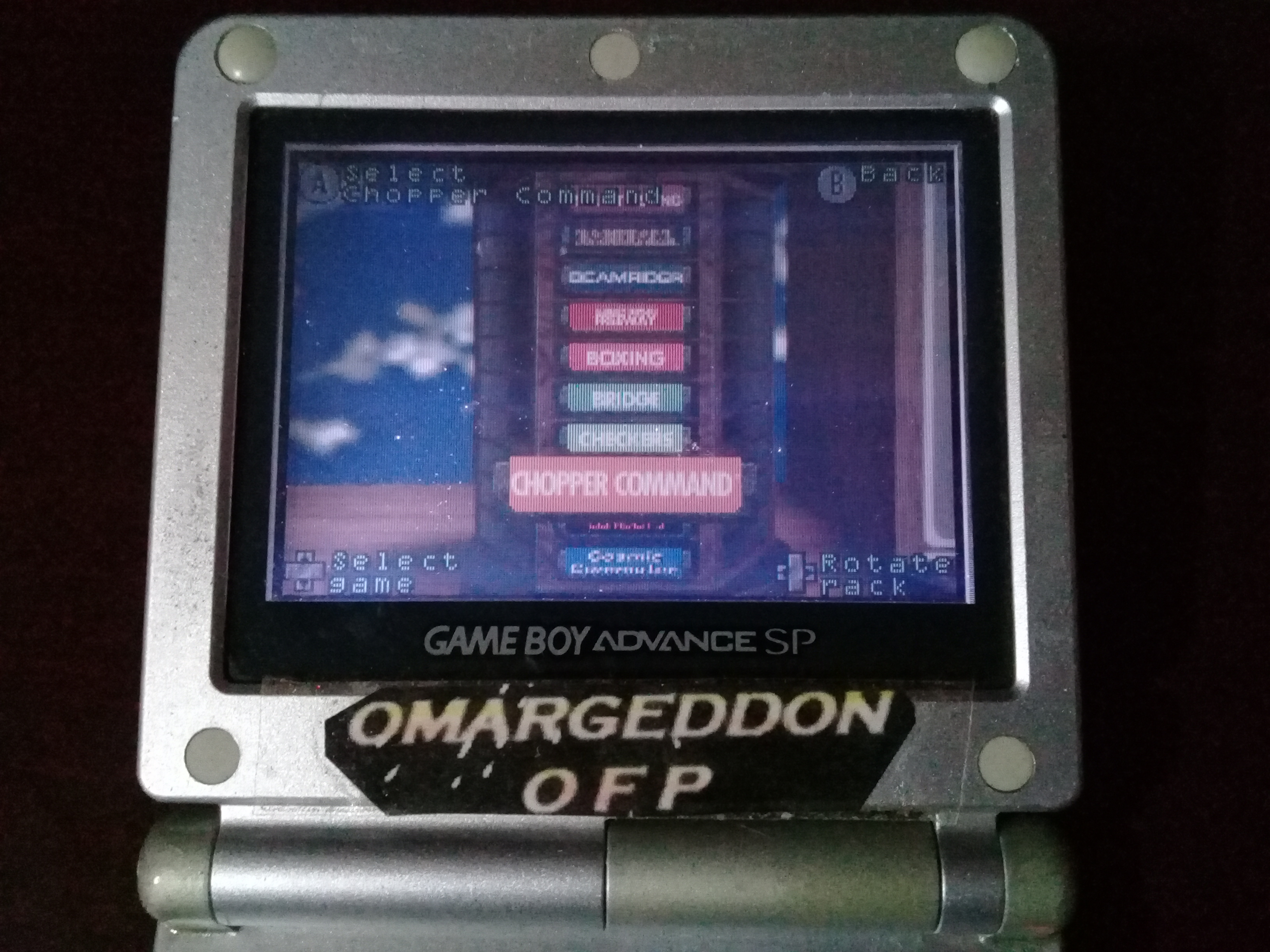 omargeddon: Activision Anthology: Chopper Command [Game 1B] (GBA) 16,400 points on 2019-09-15 11:51:32