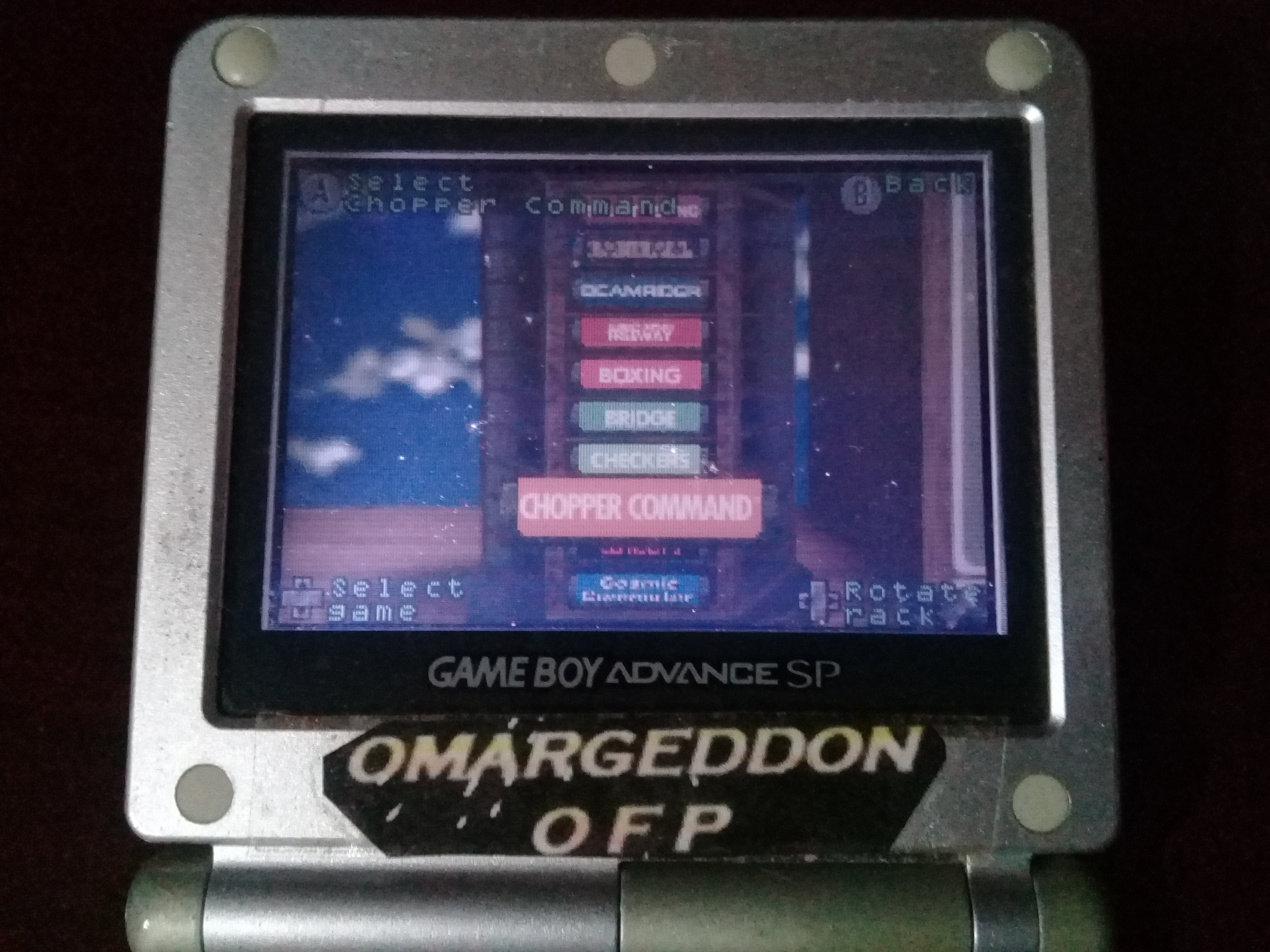 omargeddon: Activision Anthology: Chopper Command [Game 1B] (GBA) 17,500 points on 2020-03-16 11:54:17