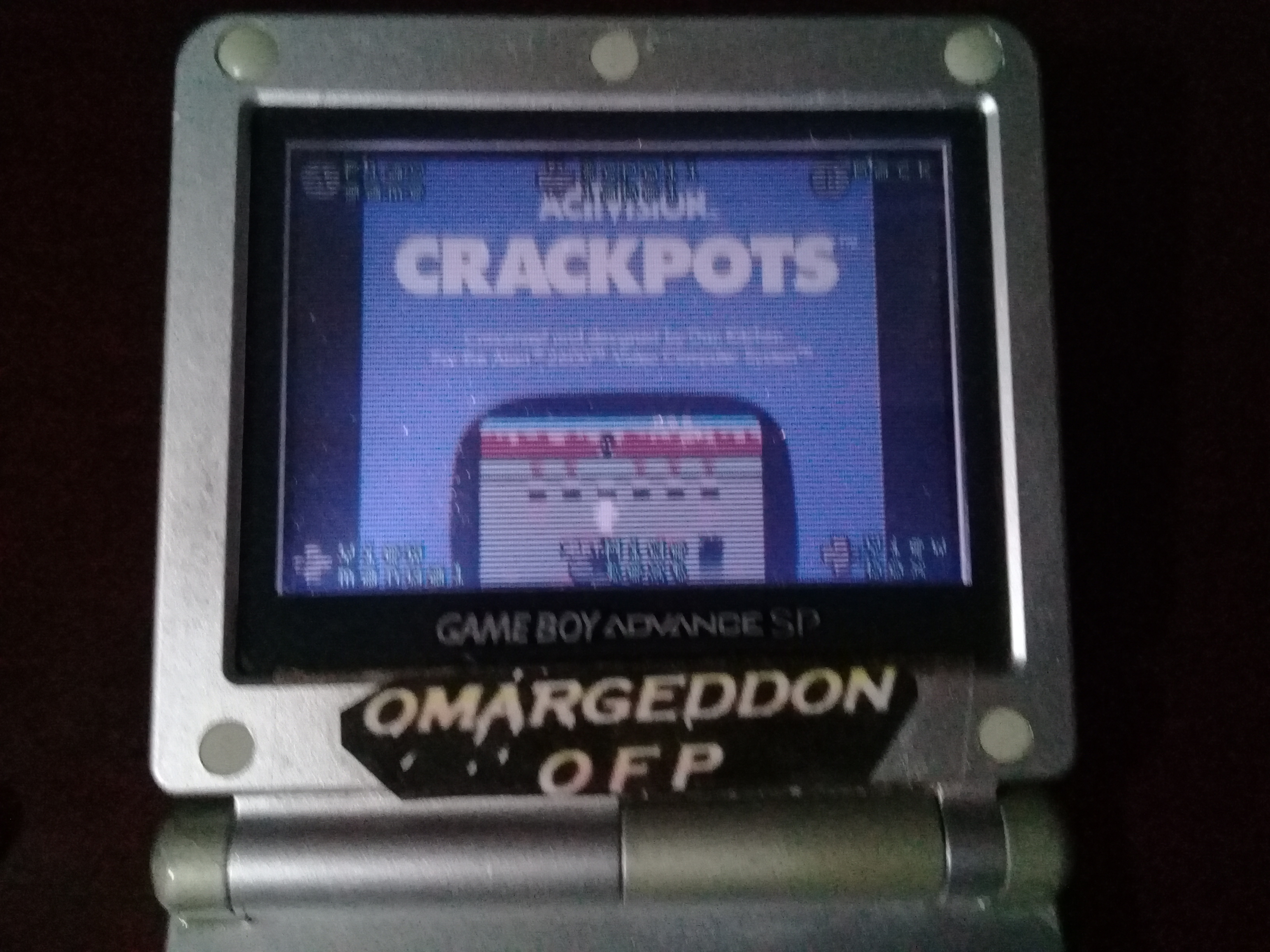 omargeddon: Activision Anthology: Crackpots [Game 1] (GBA) 17,810 points on 2019-09-21 00:18:48