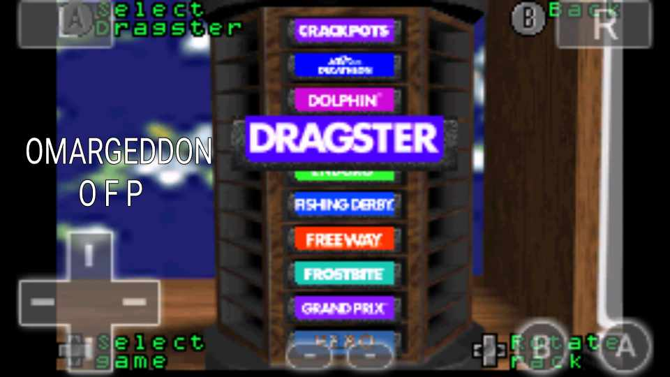 Activision Anthology: Dragster [Game 1B] time of 0:00:06.37