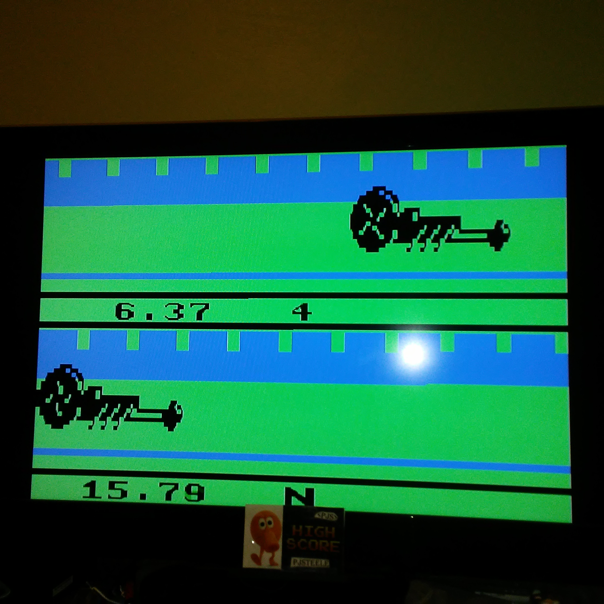 Pjsteele: Activision Anthology: Dragster [Game 1B] (GBA Emulated) 0:00:06.37 points on 2017-12-04 21:36:09