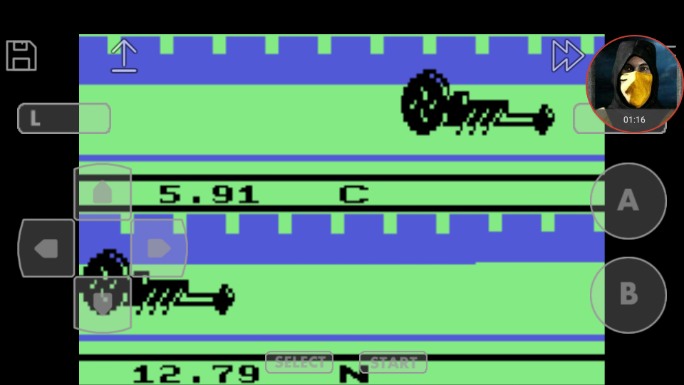 omargeddon: Activision Anthology: Dragster [Game 1B] (GBA Emulated) 0:00:05.91 points on 2018-03-08 00:09:36