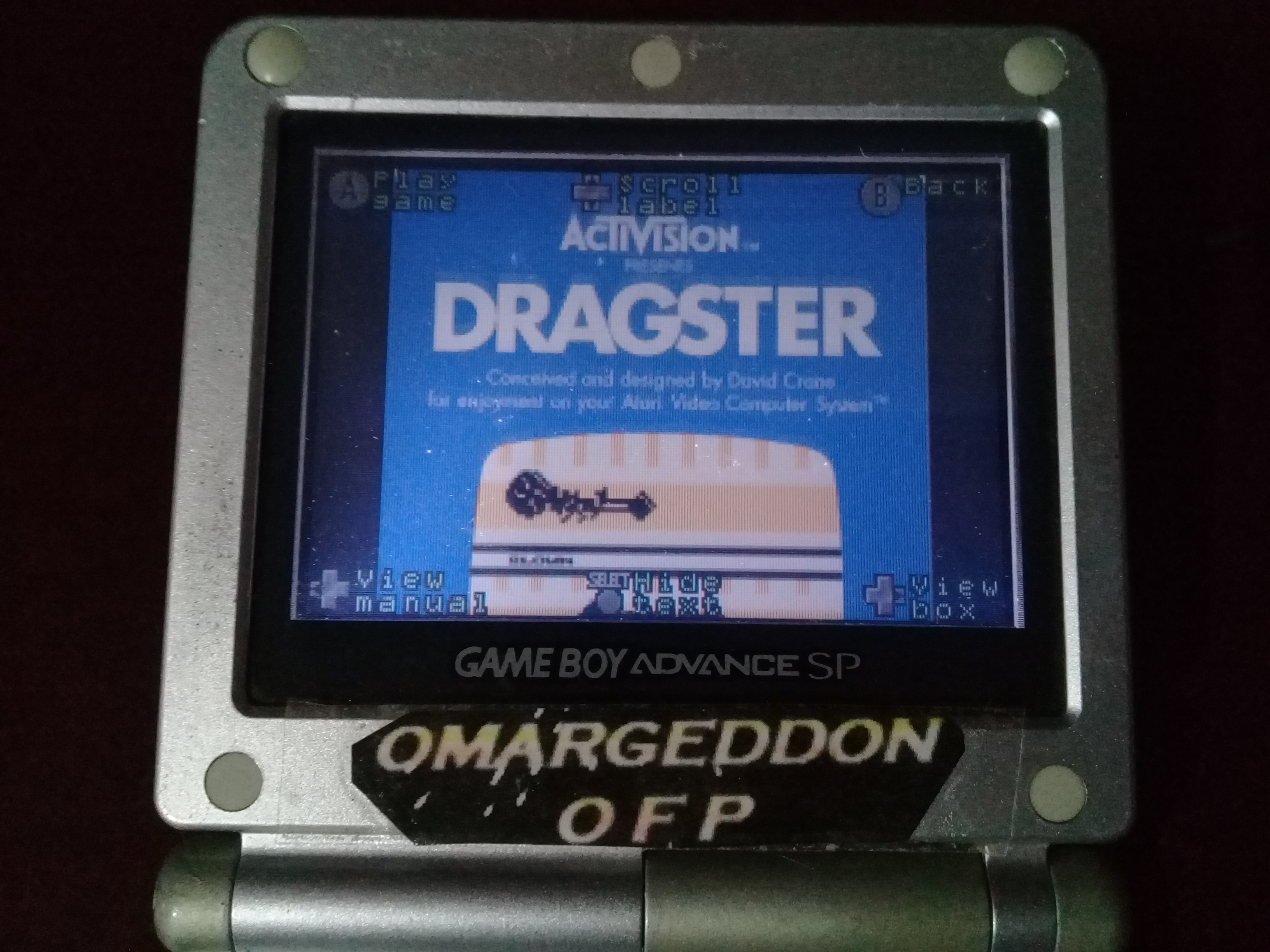 omargeddon: Activision Anthology: Dragster [Game 1B] (GBA) 0:00:06.17 points on 2019-09-16 12:46:32