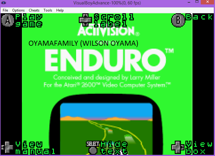 Activision Anthology: Enduro [Game 1B] 967 points