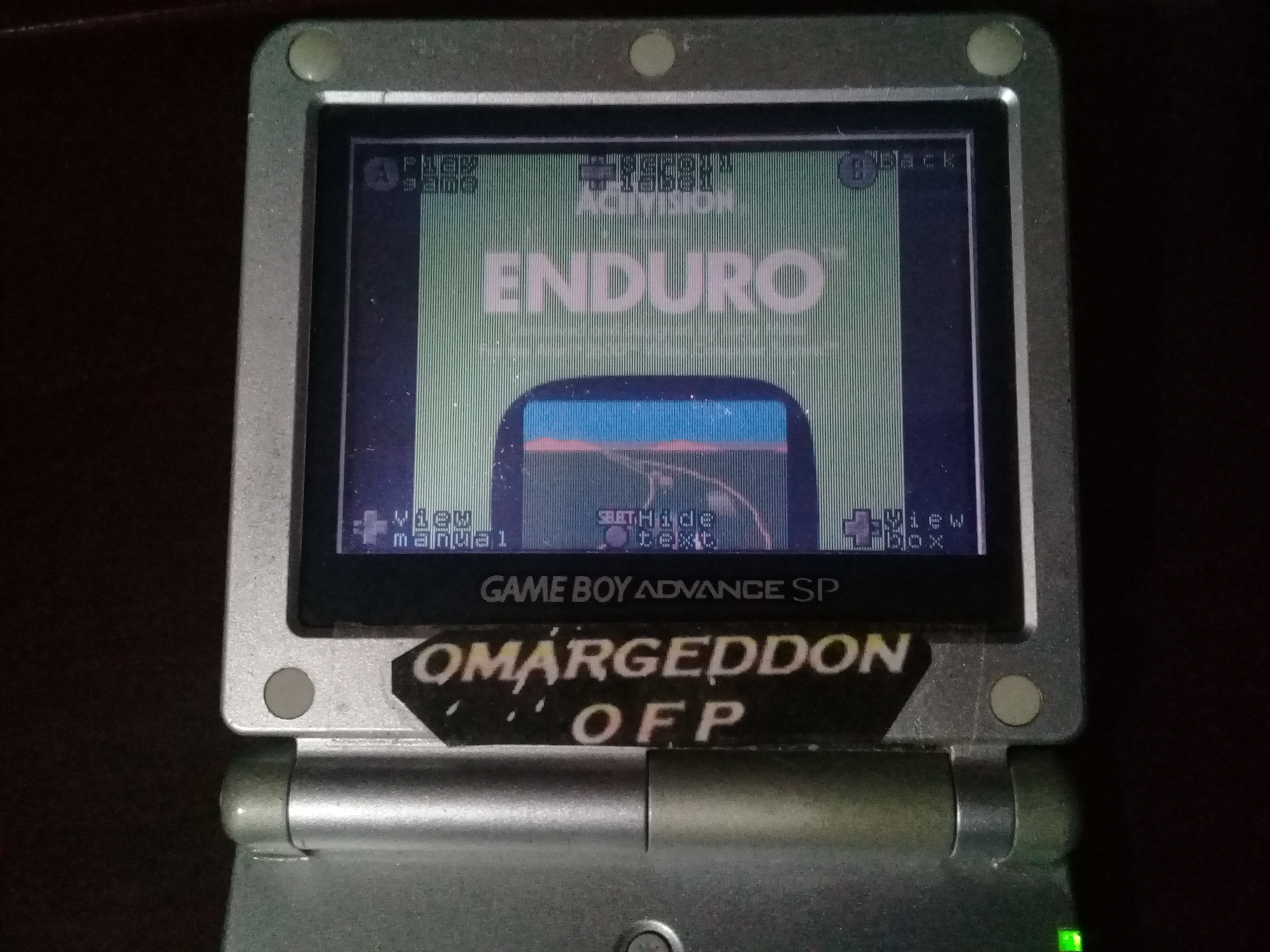 omargeddon: Activision Anthology: Enduro [Game 1B] (GBA) 942 points on 2019-09-19 00:36:25