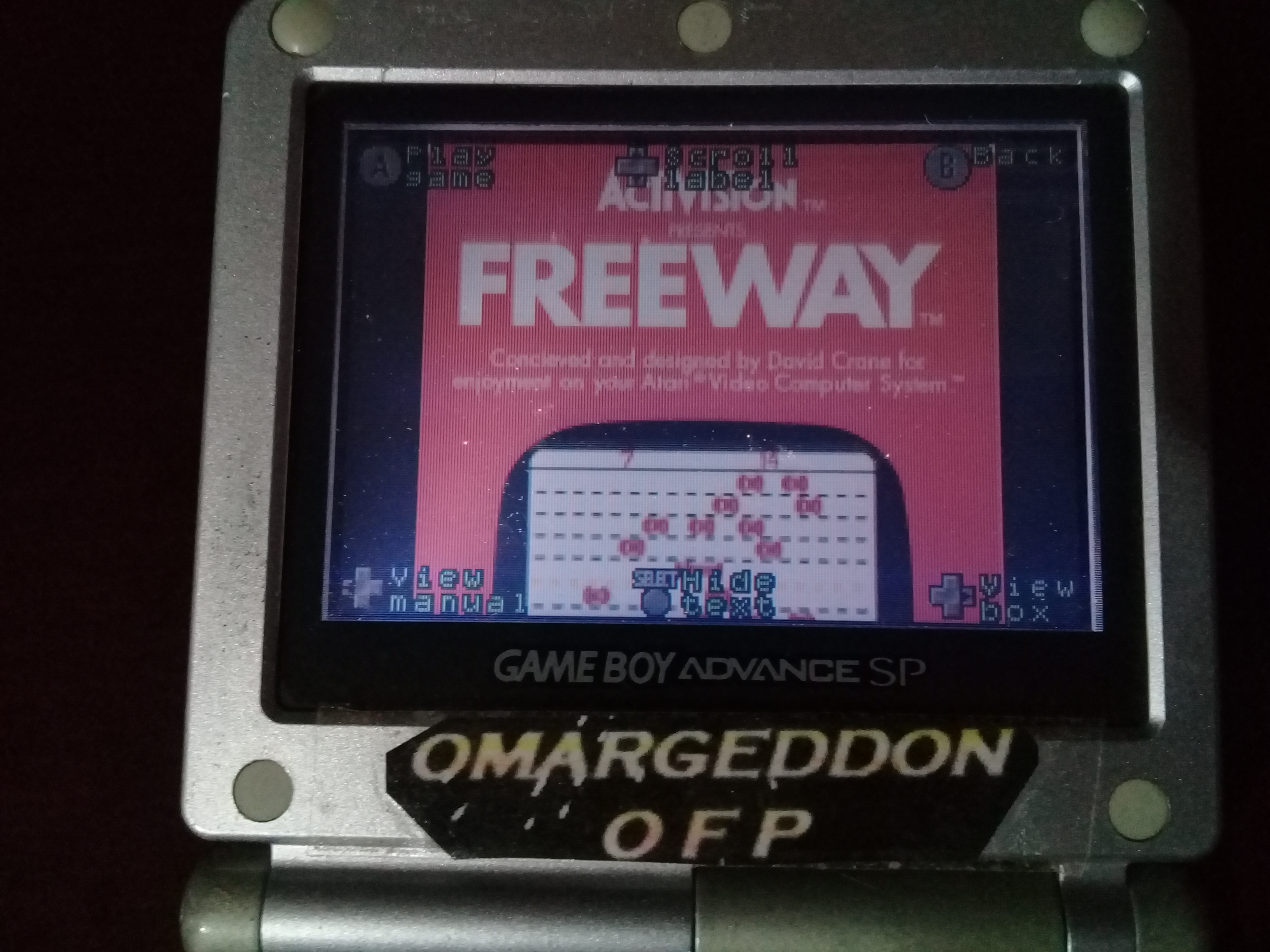 omargeddon: Activision Anthology: Freeway [Game 1B] (GBA) 32 points on 2019-09-16 13:08:36