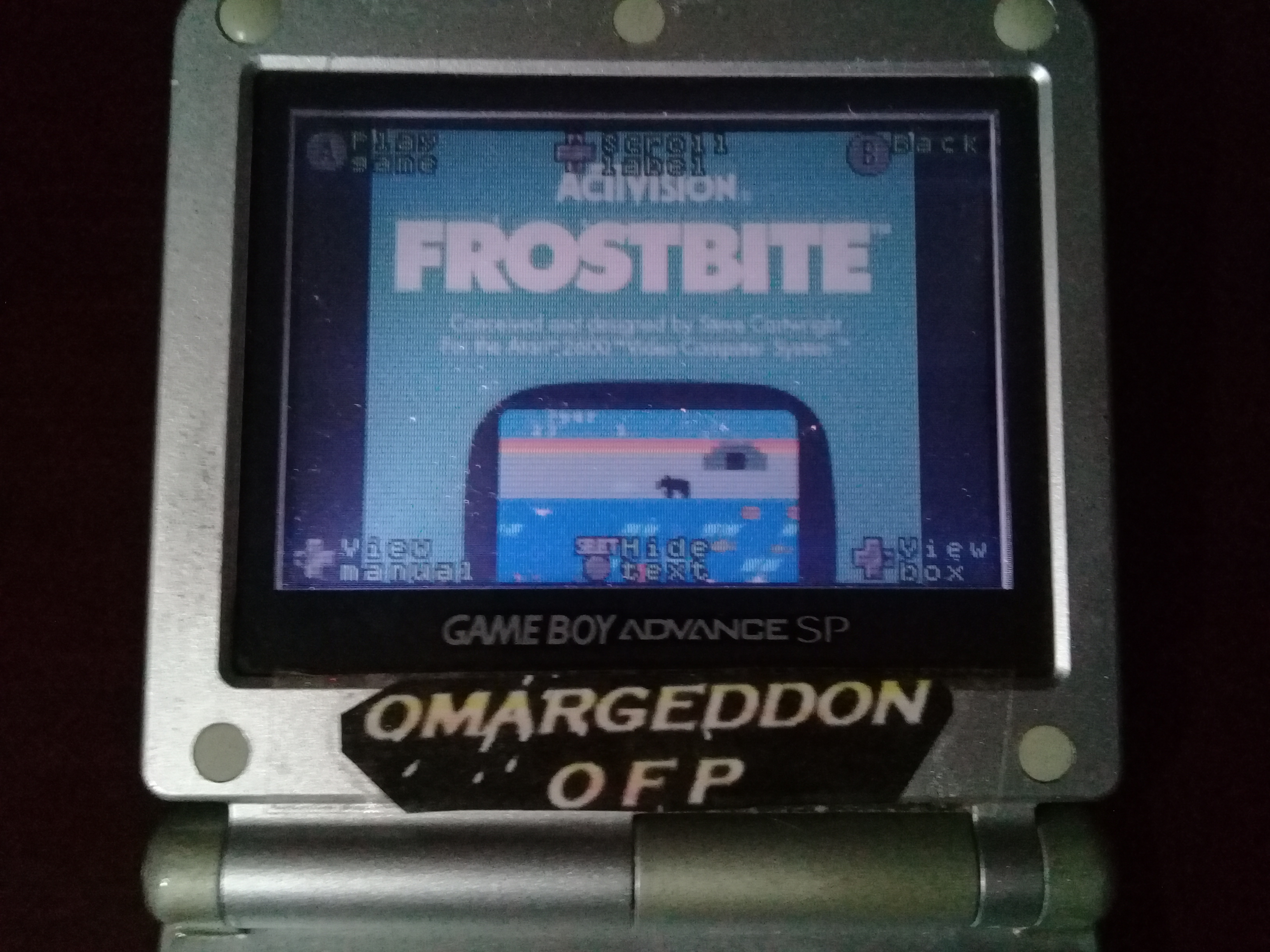 omargeddon: Activision Anthology: Frostbite [Game 1] (GBA) 3,980 points on 2019-09-21 00:05:40