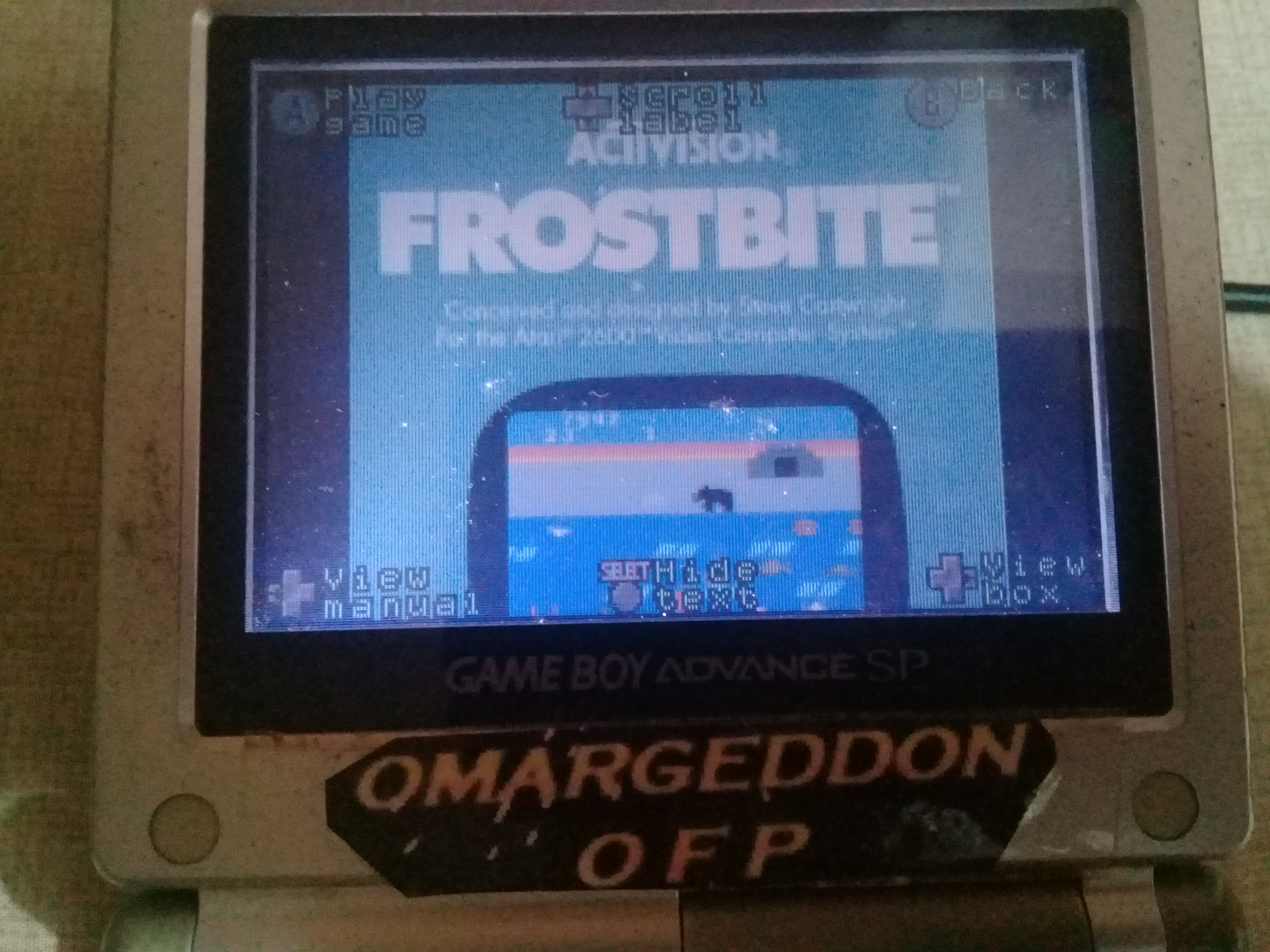 omargeddon: Activision Anthology: Frostbite [Game 1] (GBA) 21,470 points on 2020-05-08 23:03:05