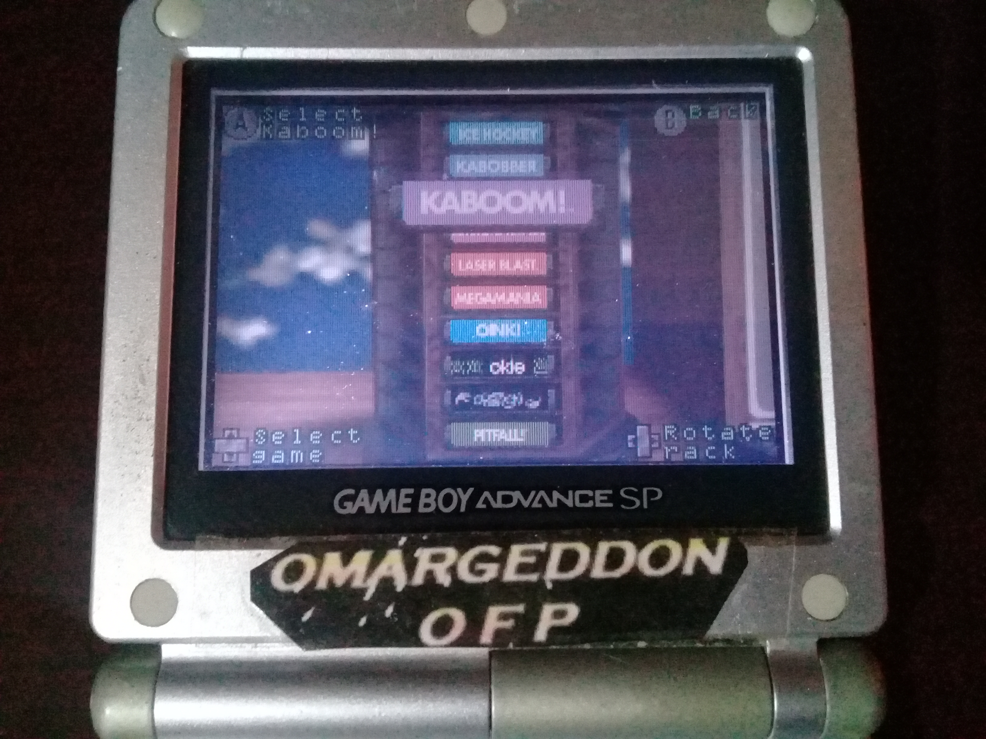 omargeddon: Activision Anthology: Kaboom! [Game 1B] (GBA) 285 points on 2019-09-15 14:55:37