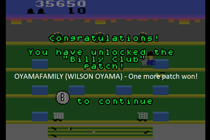 oyamafamily: Activision Anthology: Keystone Kapers [Game 1B] (GBA Emulated) 42,500 points on 2016-07-23 20:09:24