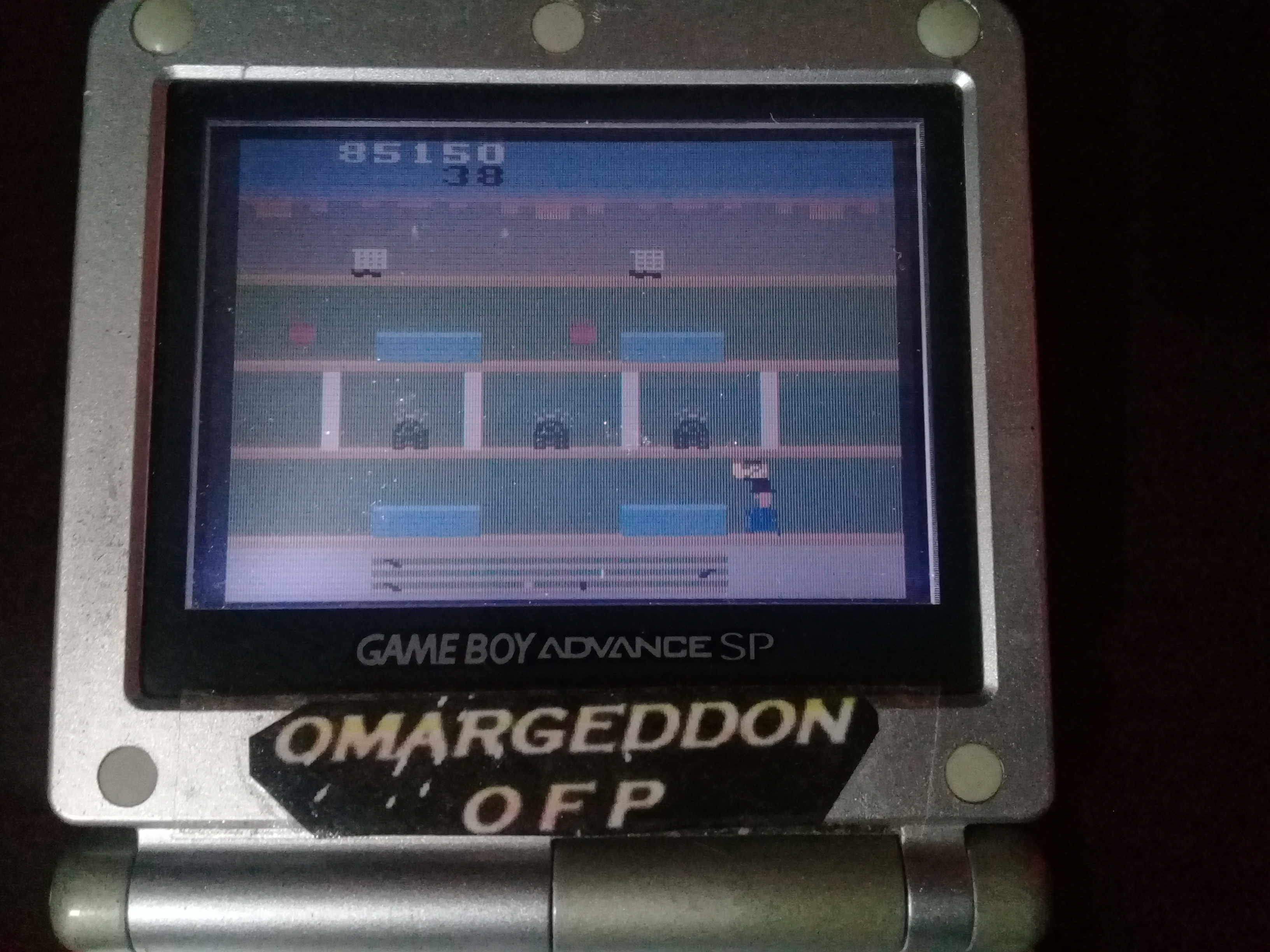 omargeddon: Activision Anthology: Keystone Kapers [Game 1B] (GBA) 85,150 points on 2019-09-15 15:43:45