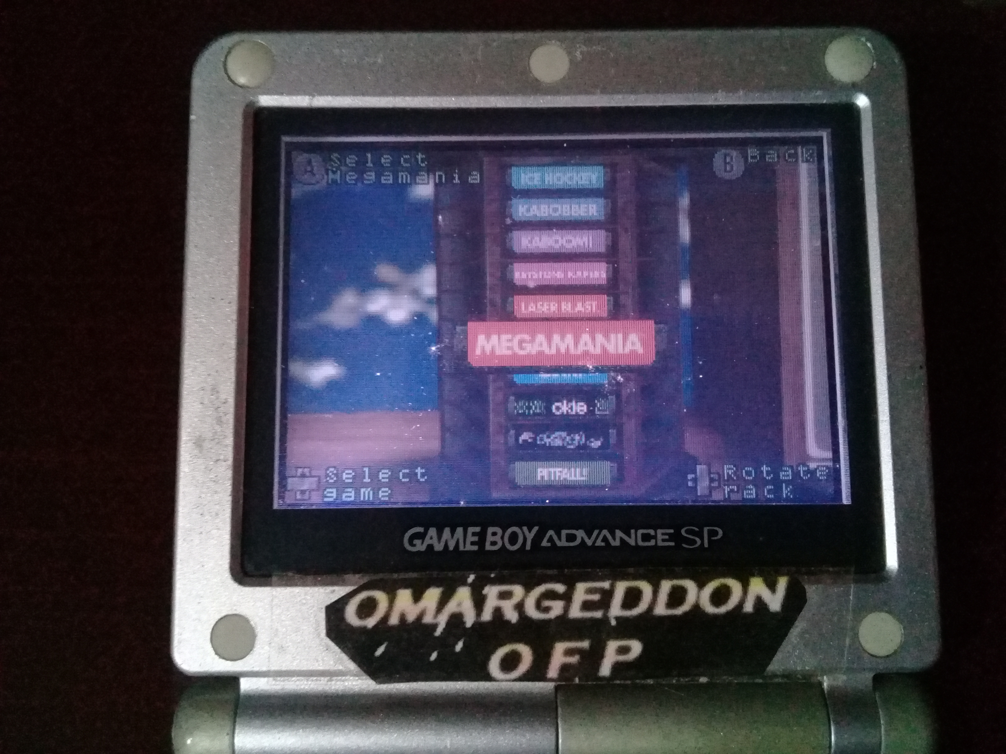 omargeddon: Activision Anthology: Megamania [Game 1A] (GBA) 16,950 points on 2020-05-03 17:47:29
