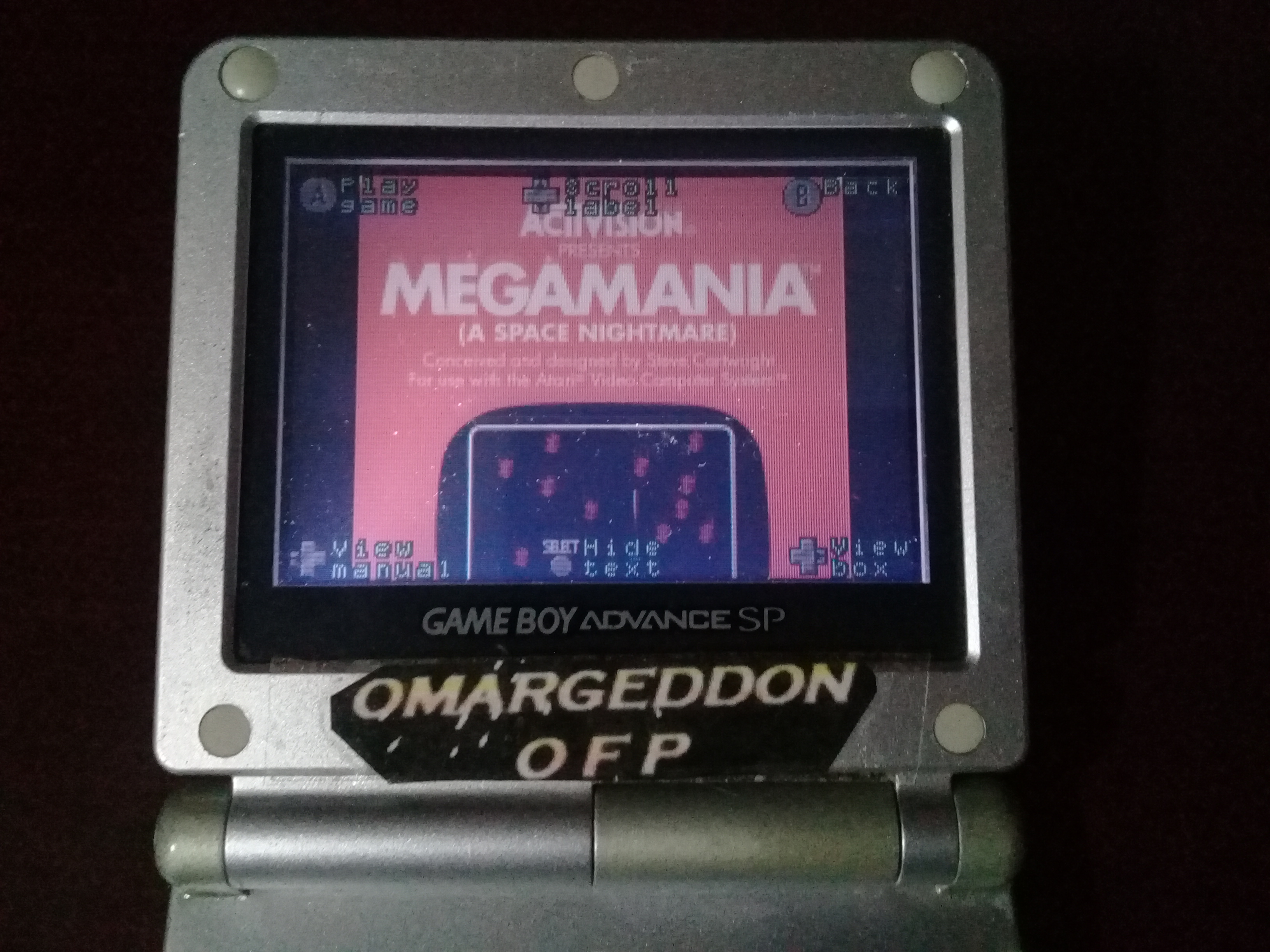 omargeddon: Activision Anthology: Megamania [Game 1B] (GBA) 16,300 points on 2019-10-13 10:25:16