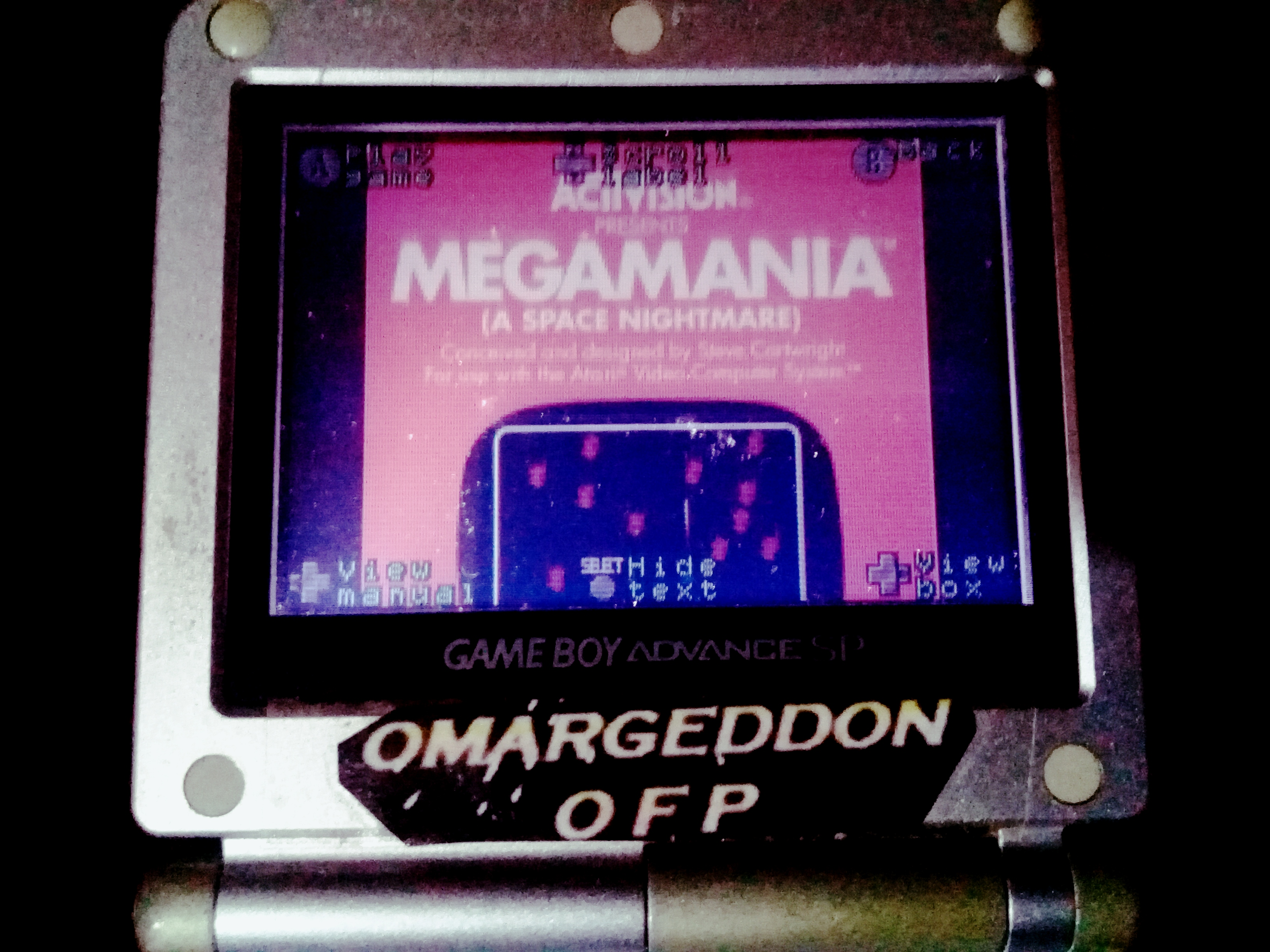 omargeddon: Activision Anthology: Megamania [Game 1B] (GBA) 116,970 points on 2020-08-15 17:19:30