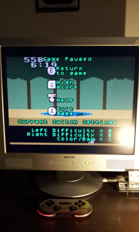 Larquey: Activision Anthology: Pitfall! [Game 1B] (GBA Emulated) 55,883 points on 2017-01-30 16:06:31