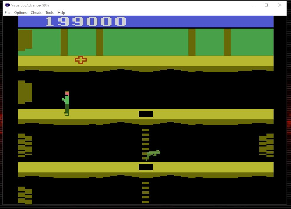 nads: Activision Anthology: Pitfall II: Lost Caverns [Game 1] (GBA Emulated) 199,000 points on 2020-11-01 06:56:04