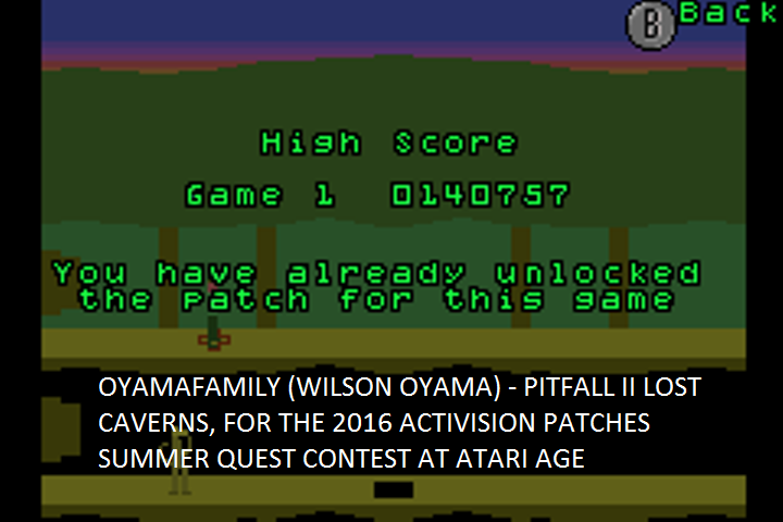 oyamafamily: Activision Anthology: Pitfall II: Lost Caverns [Game 1] (GBA Emulated) 140,757 points on 2016-07-17 18:55:36