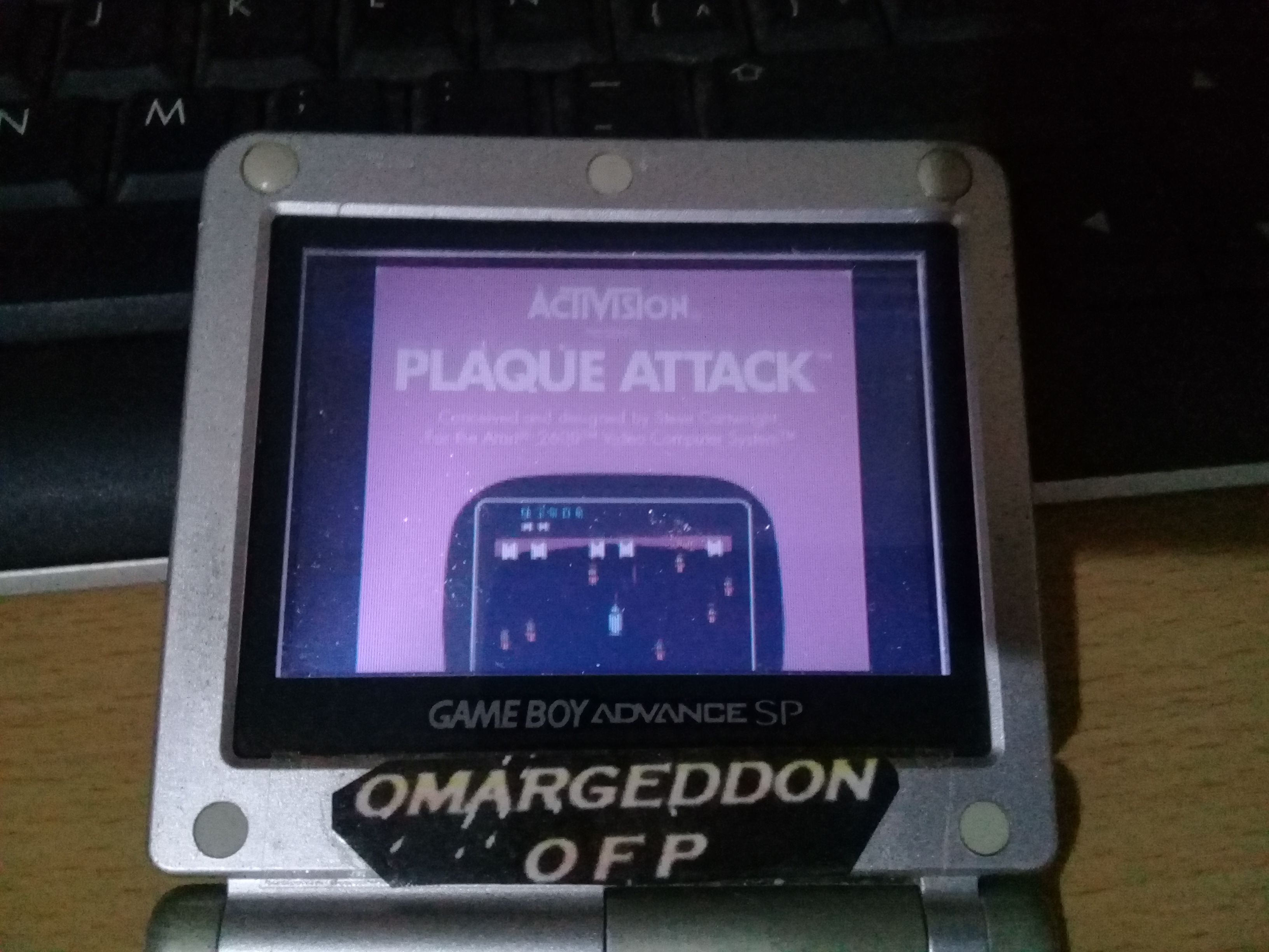 omargeddon: Activision Anthology: Plaque Attack [Game 1B] (GBA) 13,260 points on 2019-09-21 00:32:04