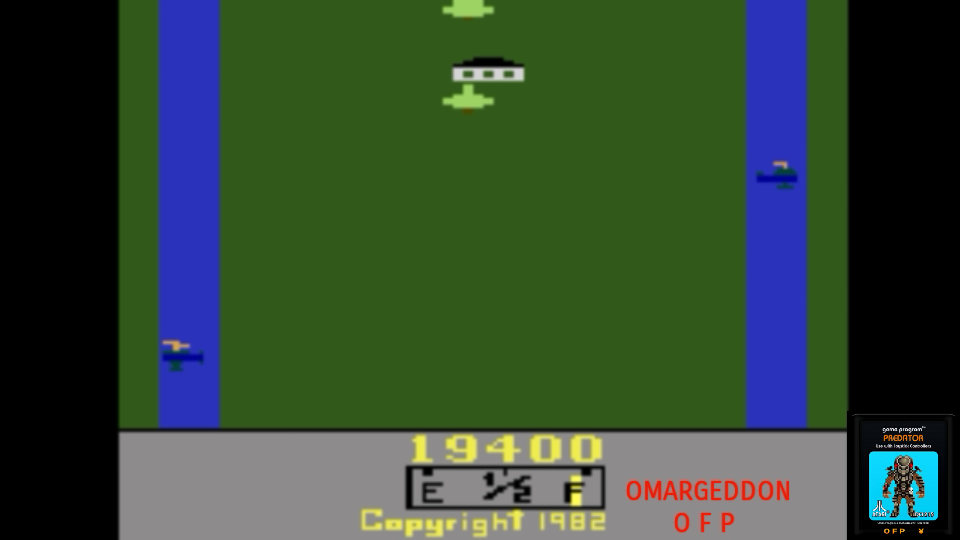 omargeddon: Activision Anthology: River Raid [Game 1B] (GBA Emulated) 19,400 points on 2017-06-27 14:04:28