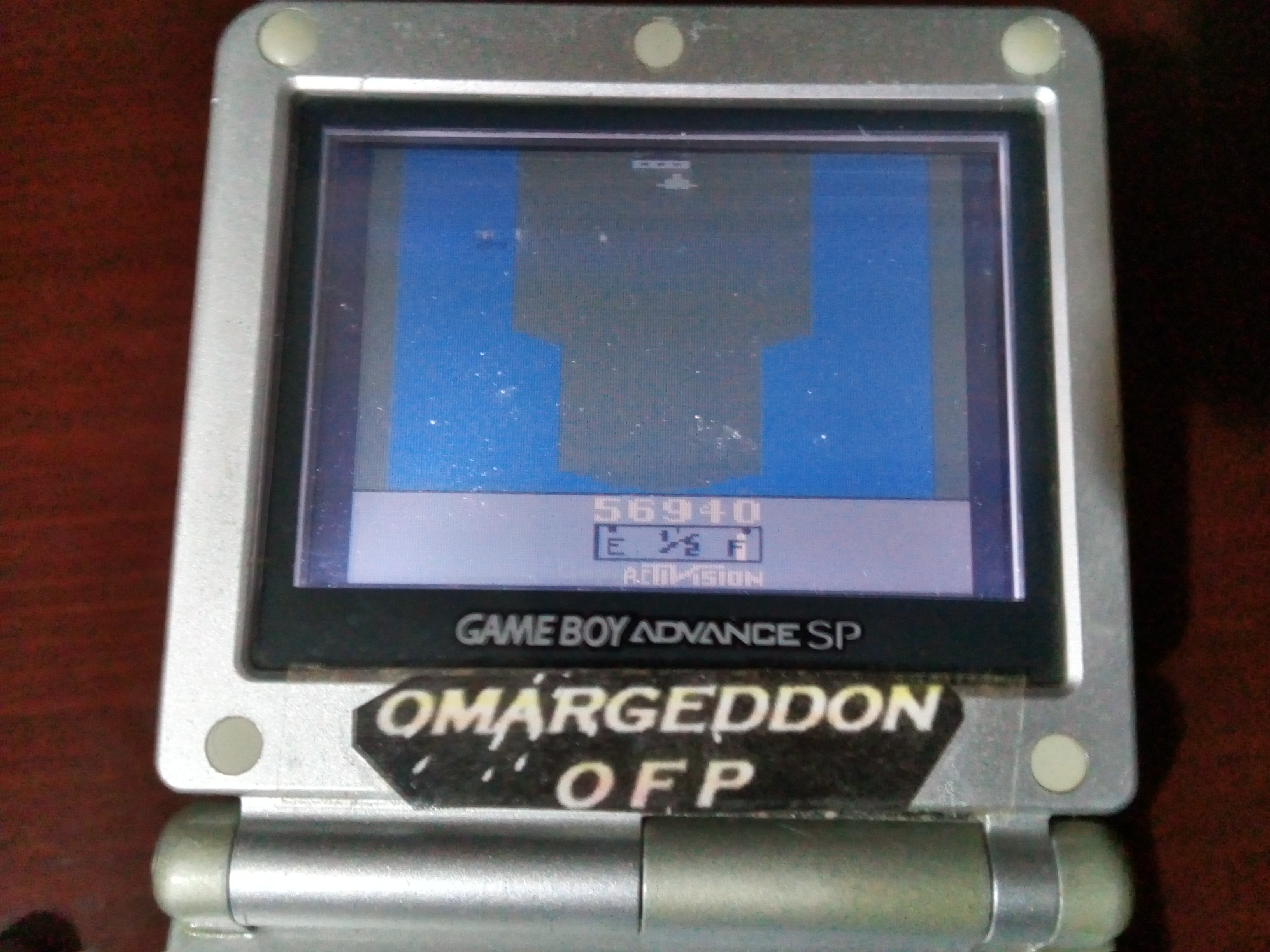 omargeddon: Activision Anthology: River Raid [Game 1B] (GBA) 56,940 points on 2019-09-15 18:43:06
