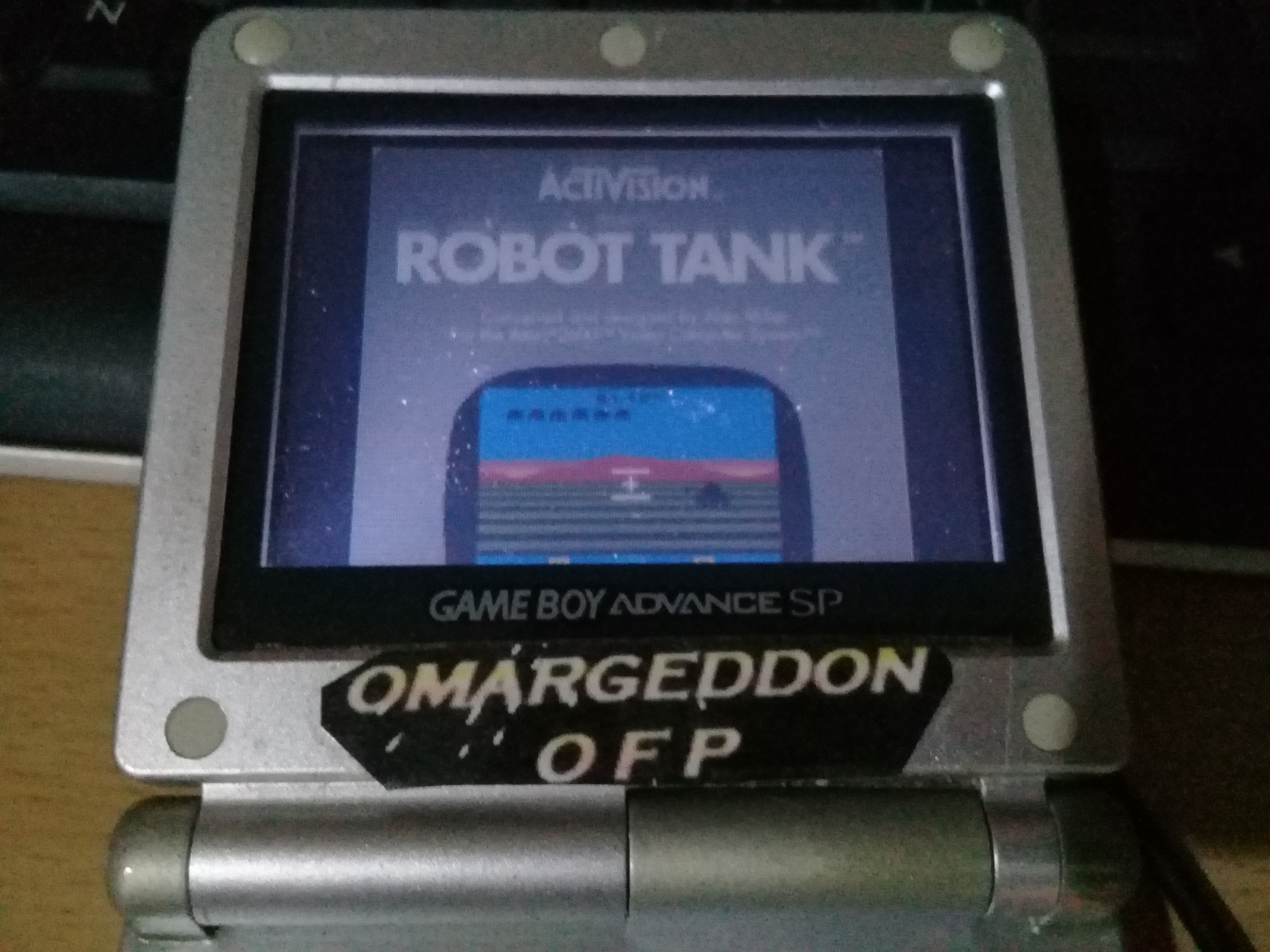omargeddon: Activision Anthology: Robot Tank [Game 1B] (GBA) 26 points on 2019-09-21 00:44:01