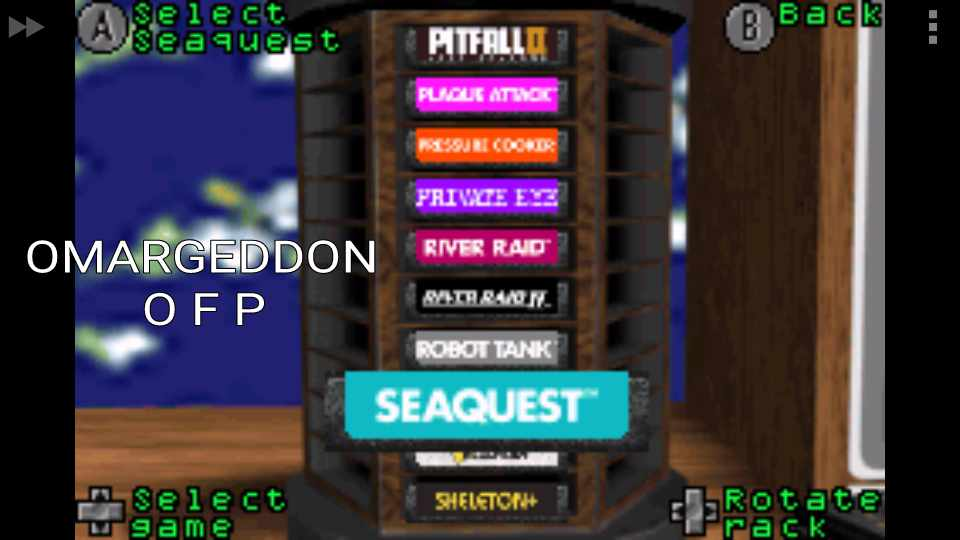 Activision Anthology: Seaquest [Game 1B] 117,840 points