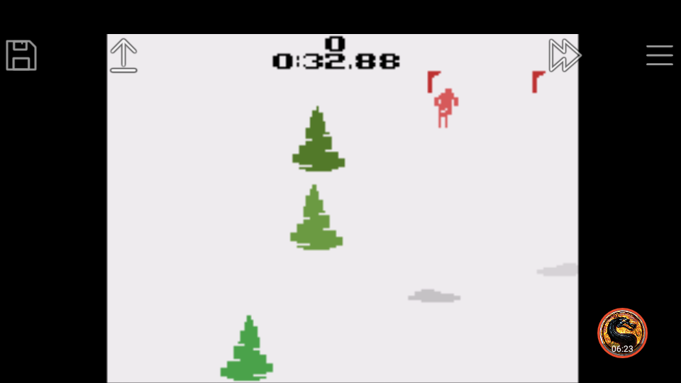 omargeddon: Activision Anthology: Skiing [Game 1B] (GBA Emulated) 0:00:32.88 points on 2019-09-22 00:12:37