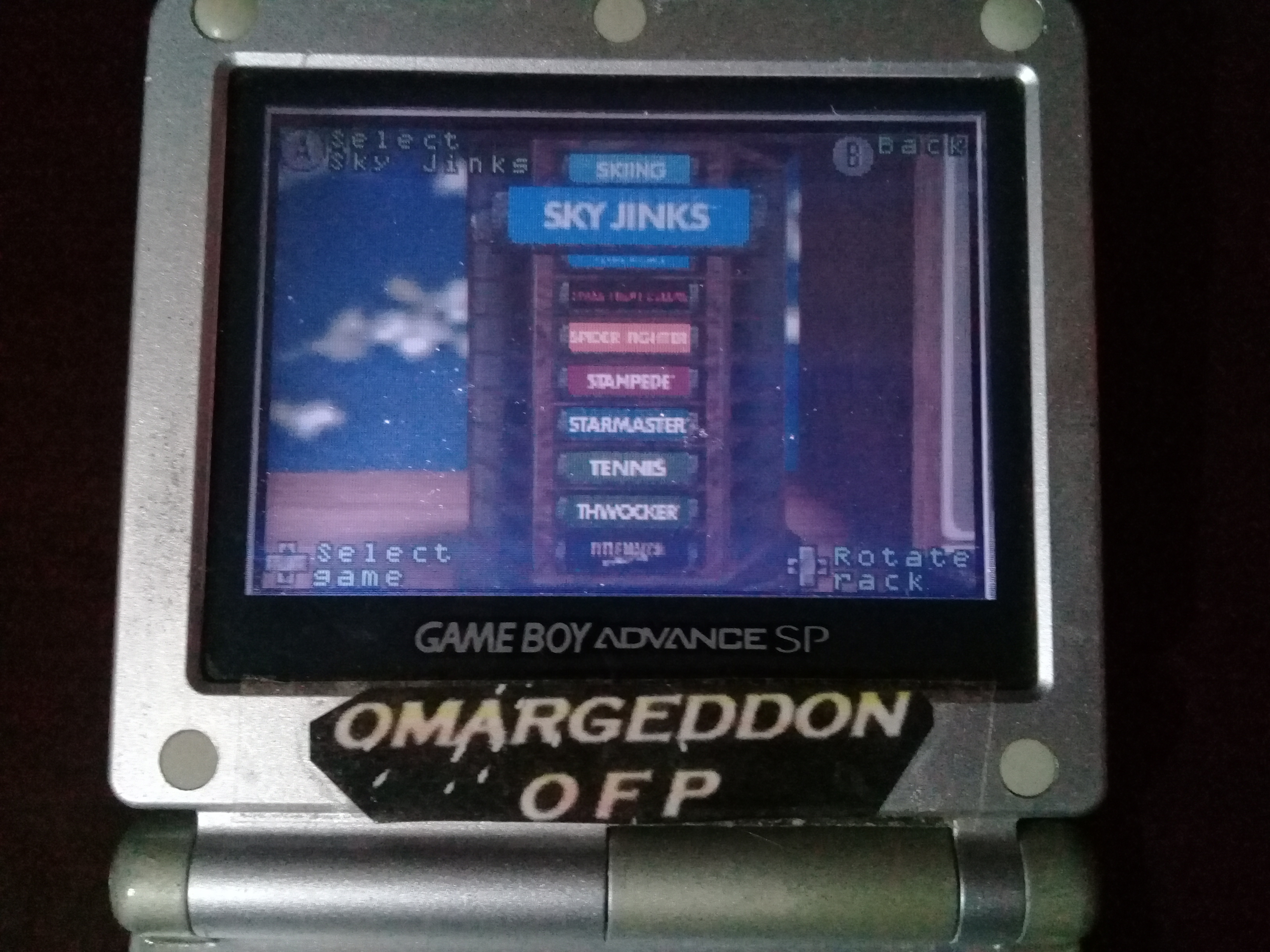 omargeddon: Activision Anthology: Sky Jinks [Game 1B] (GBA) 0:00:35.36 points on 2019-09-15 12:36:55