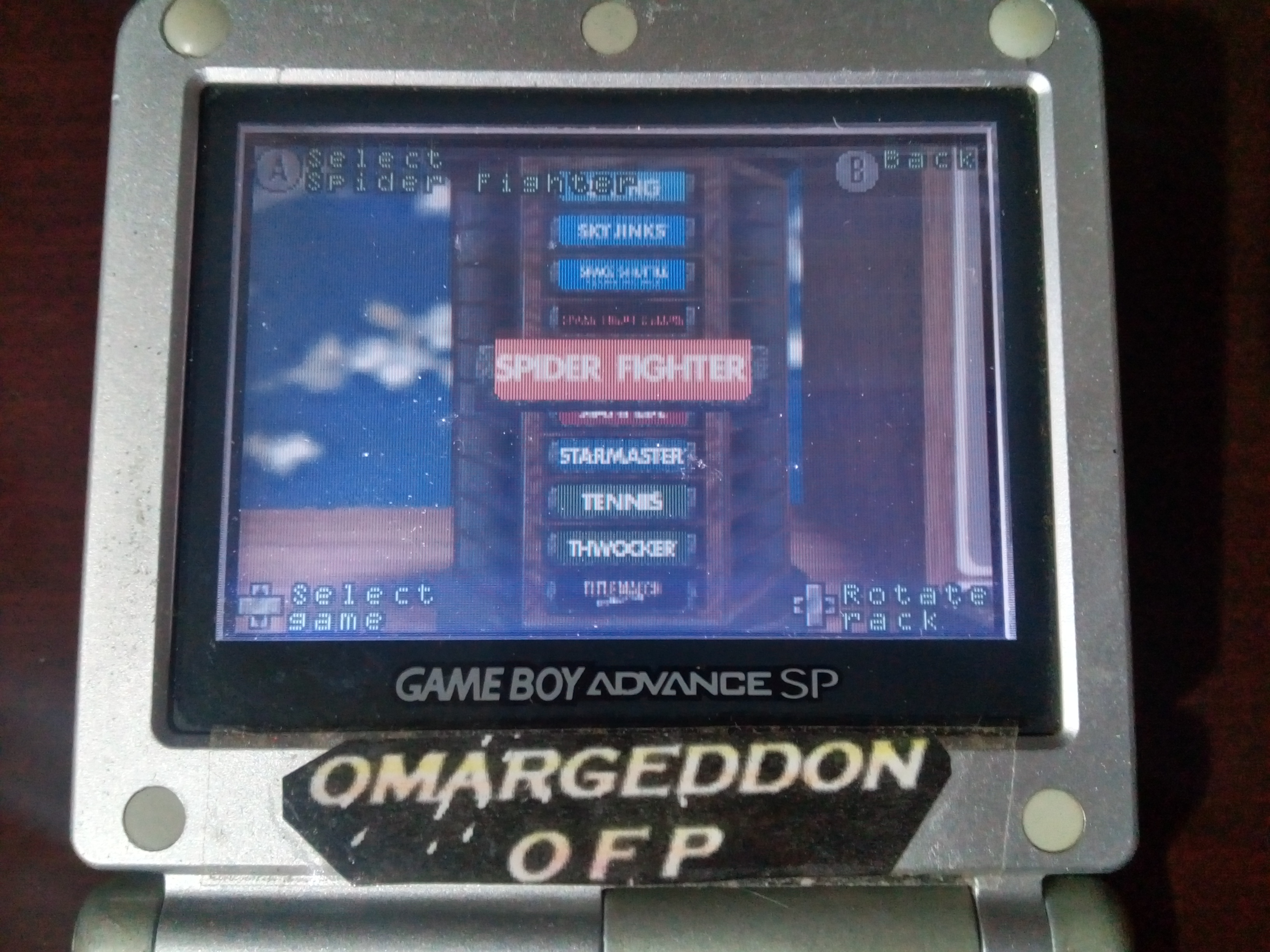 omargeddon: Activision Anthology: Spider Fighter [Game 1B] (GBA) 44,510 points on 2019-09-15 14:38:00