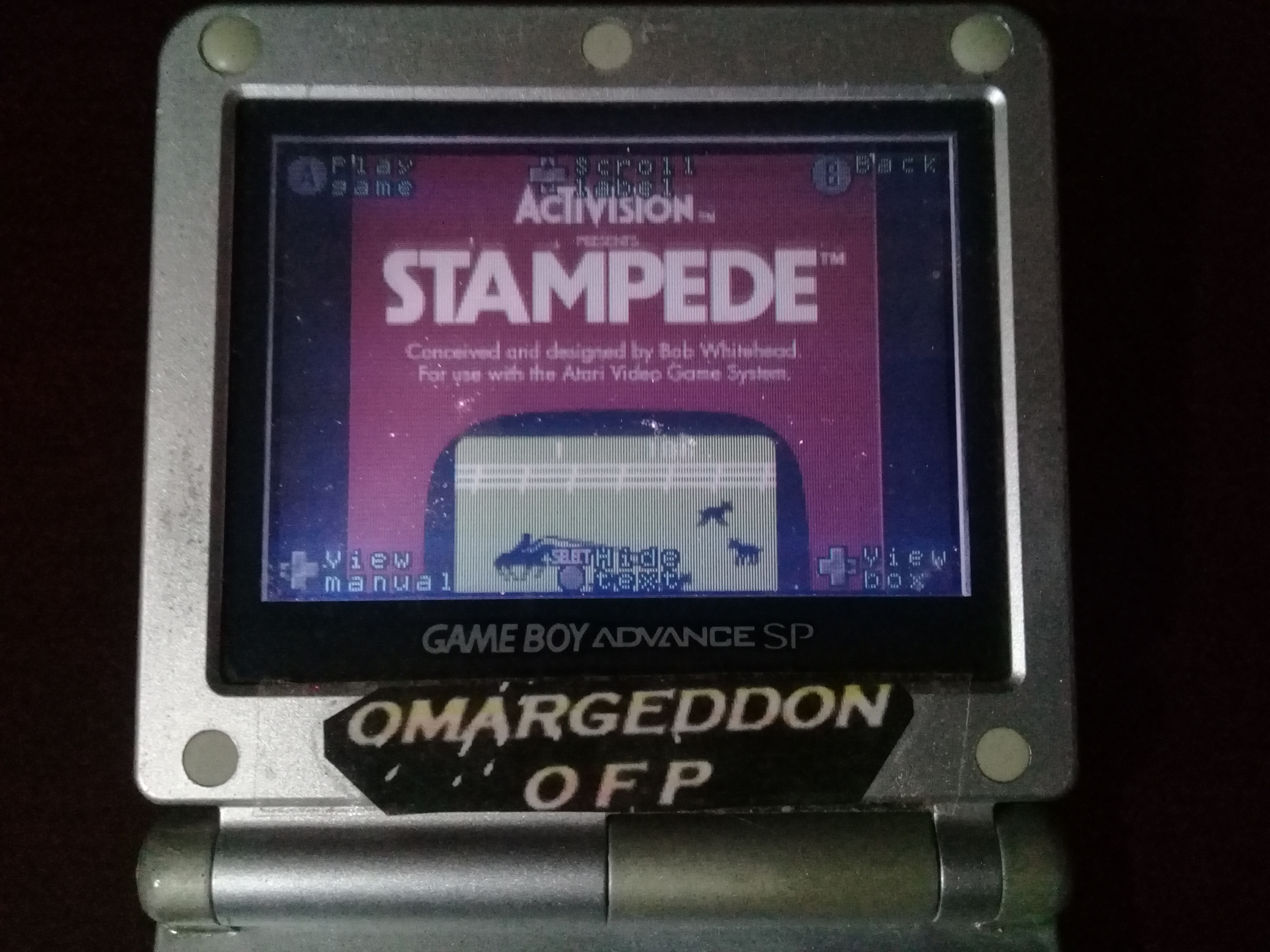 omargeddon: Activision Anthology: Stampede [Game 1B] (GBA) 2,663 points on 2020-03-01 12:05:55