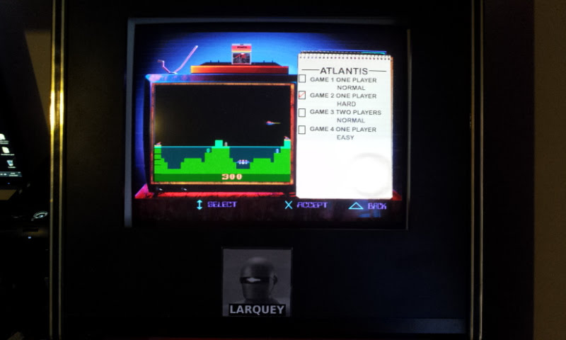 Larquey: Activision Classics: Atlantis [Game 2: Hard] (Playstation 1 Emulated) 44,801 points on 2018-02-17 10:56:57