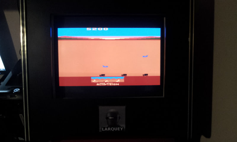 Activision Classics: Chopper Command [Game Three: Commander Level] 5,200 points