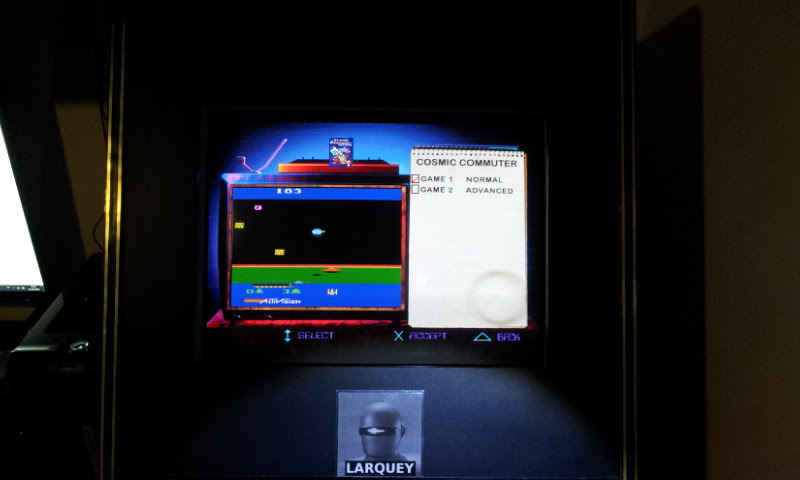 Activision Classics: Cosmic Commuter [Game One: Normal] 3,601 points