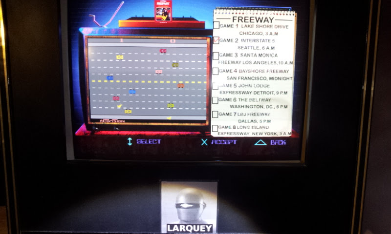 Larquey: Activision Classics: Freeway [Game 2] (Playstation 1 Emulated) 9 points on 2018-03-13 13:13:30