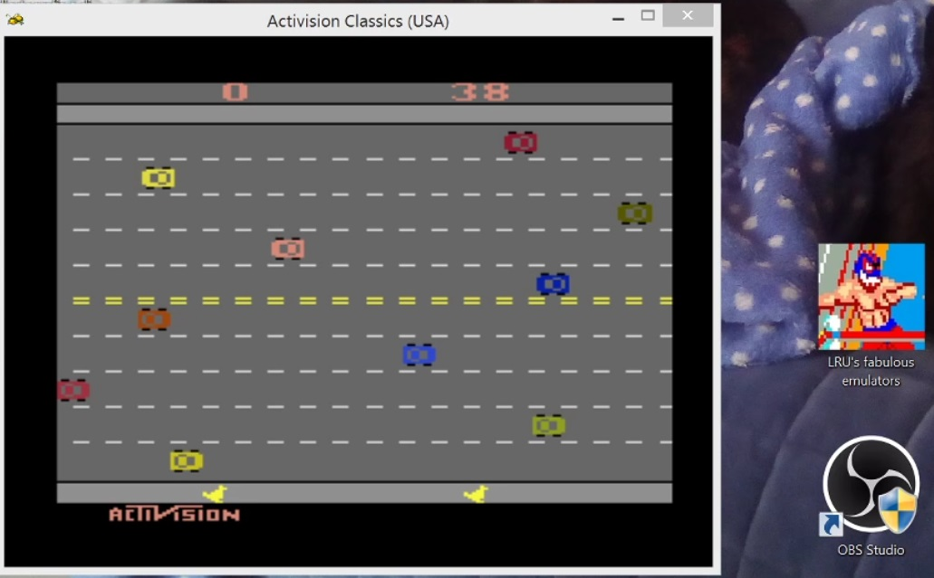 LuigiRuffolo: Activision Classics: Freeway (Playstation 1 Emulated) 38 points on 2020-12-24 14:41:53